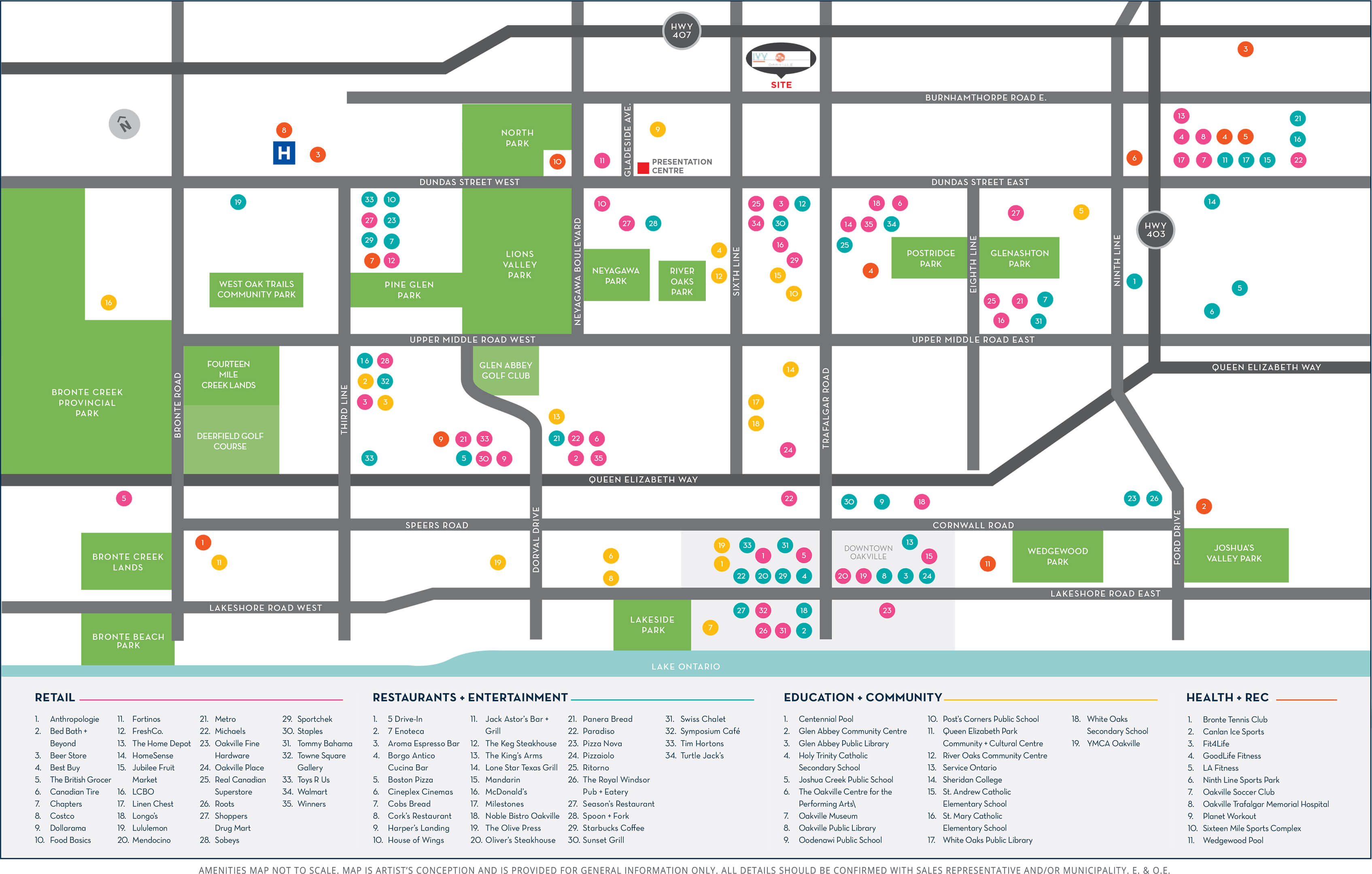 Ivy Rouge Amenities Map