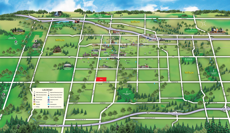 Saddle Ridge Amenities Map