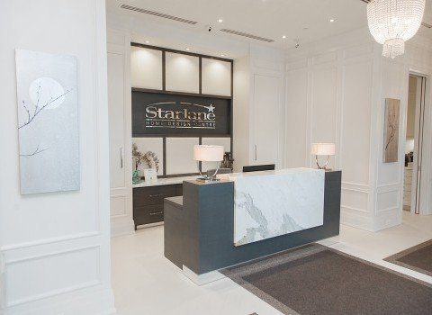 Starlane Homes Design Centre Lobby