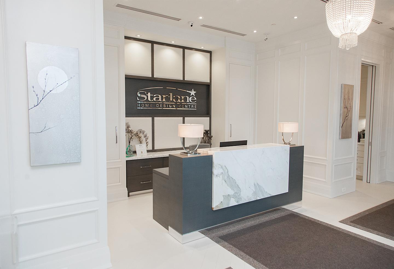 ... Starlane Homes Design Centre Lobby