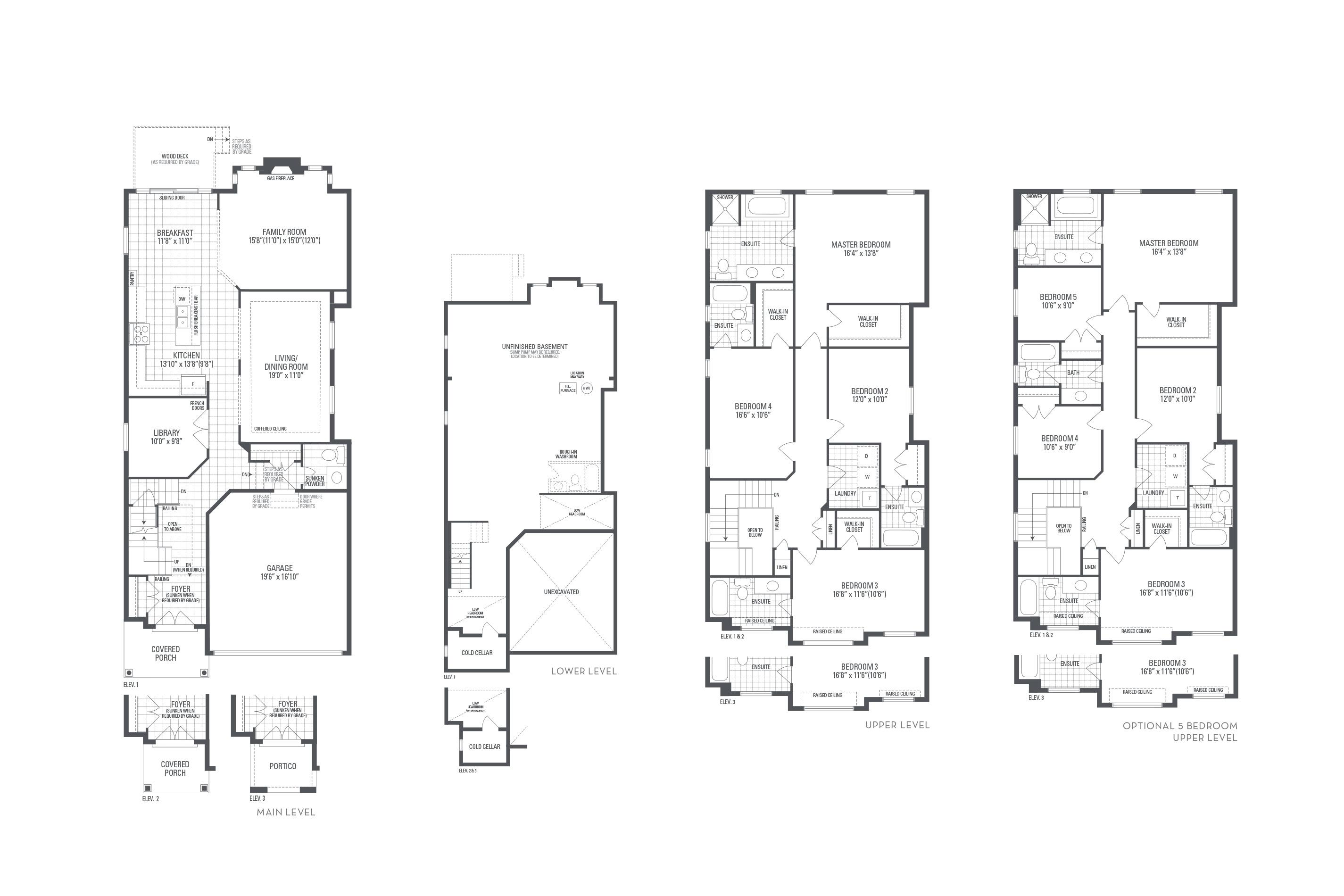 Bronte 09 Elev. 2 Floorplan