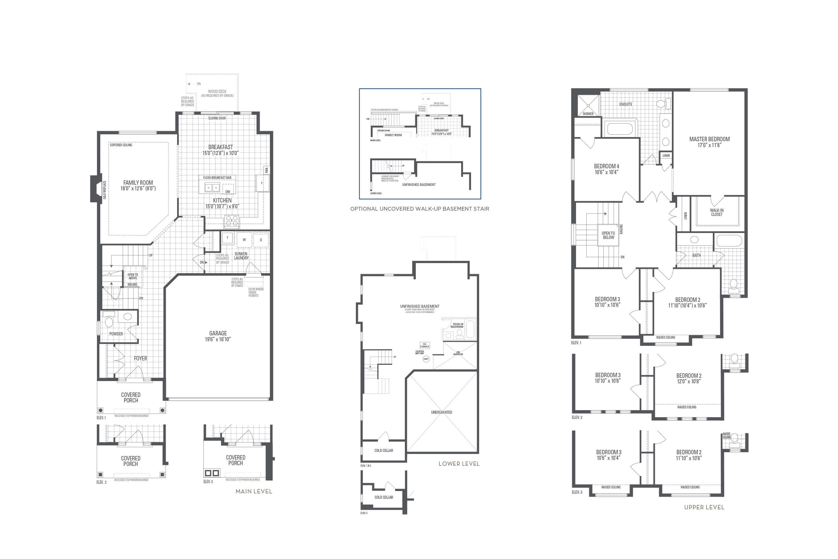 Brooklyn 01 Elev. 2 Floorplan