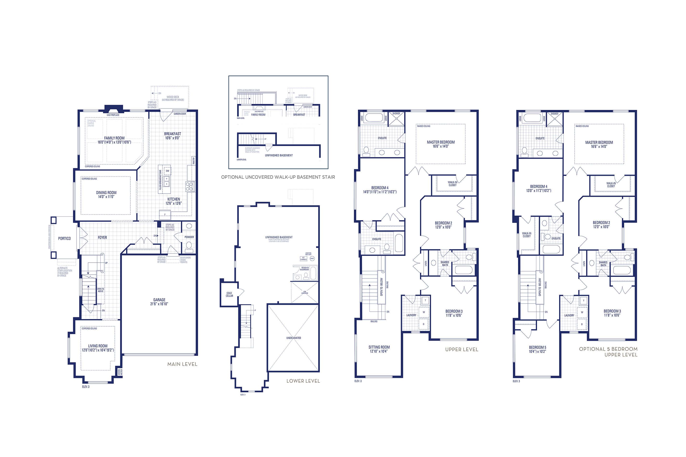 Brooklyn 12 Elev. 3 Floorplan