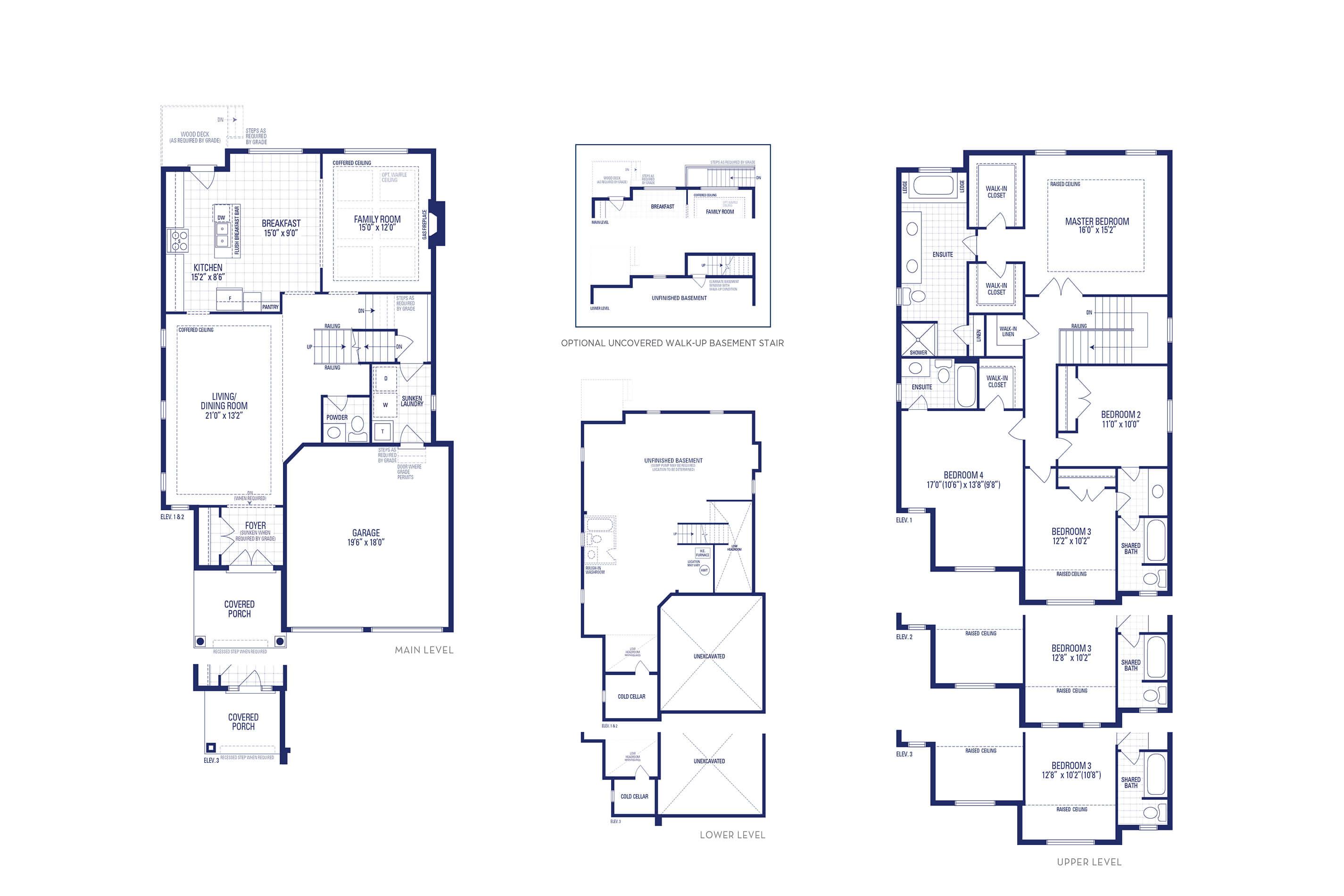 Carnegie 01 Elev. 1 Floorplan