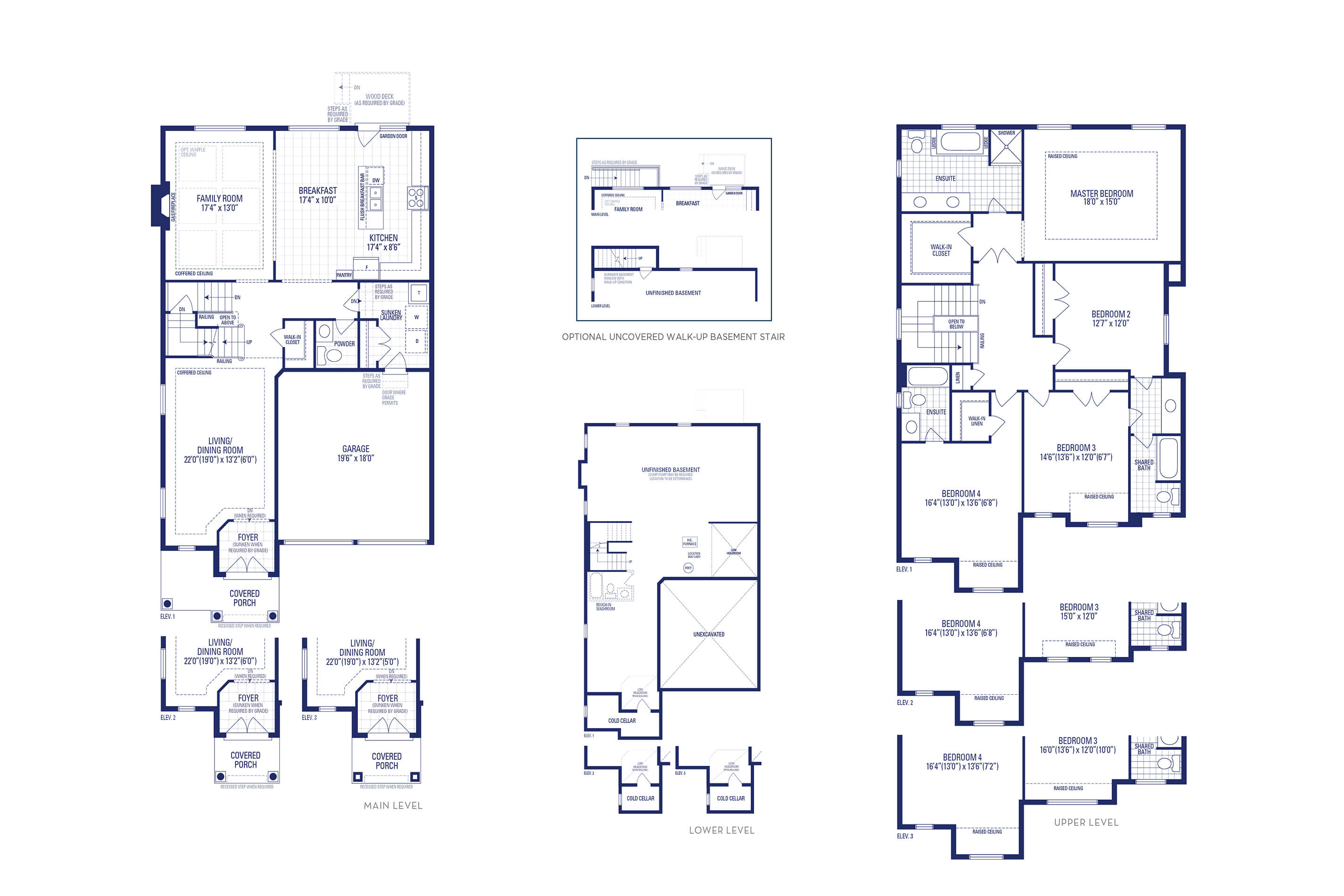 Carnegie 02 Elev. 1 Floorplan
