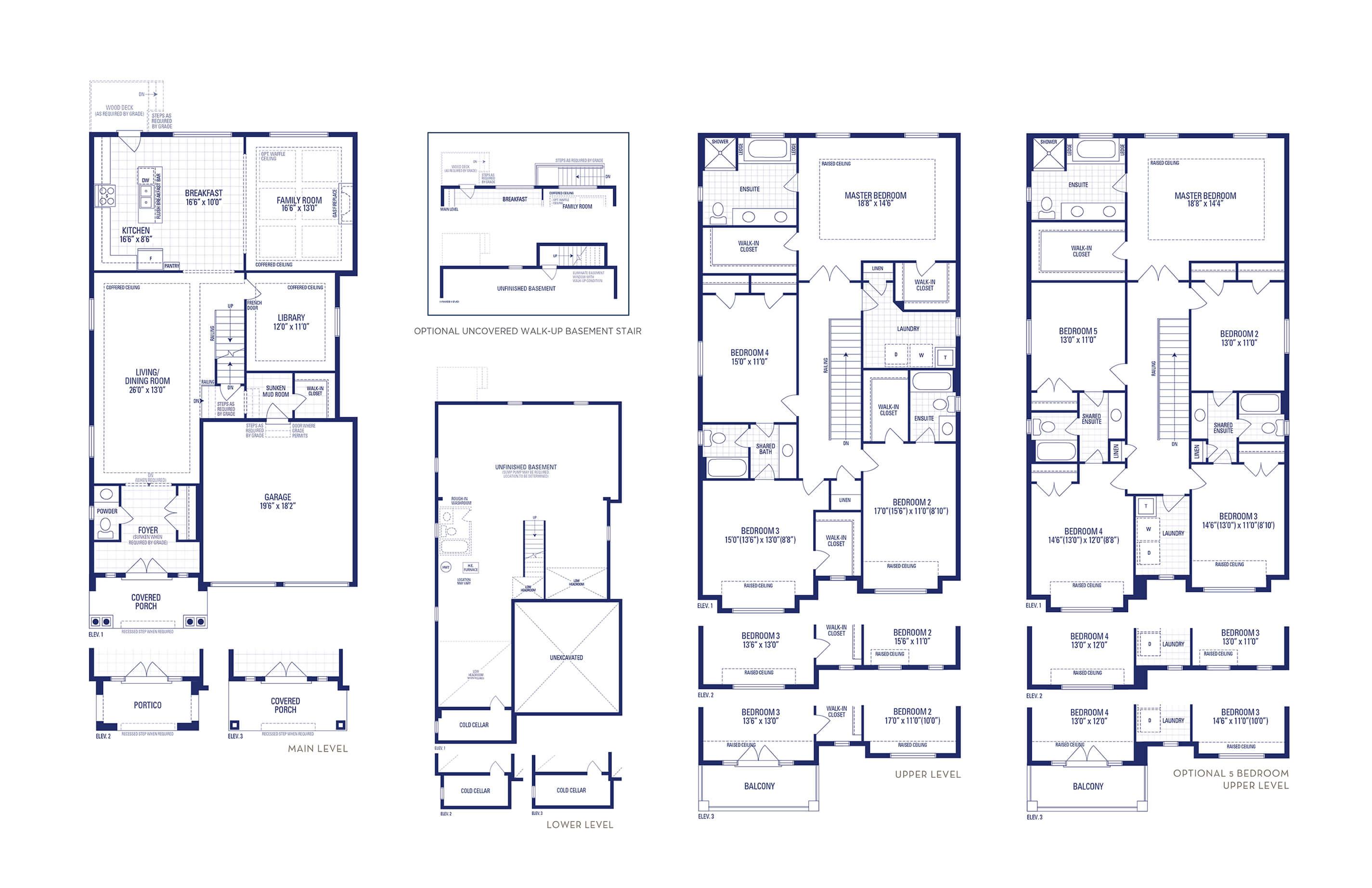 Carnegie 03 Elev. 3 Floorplan