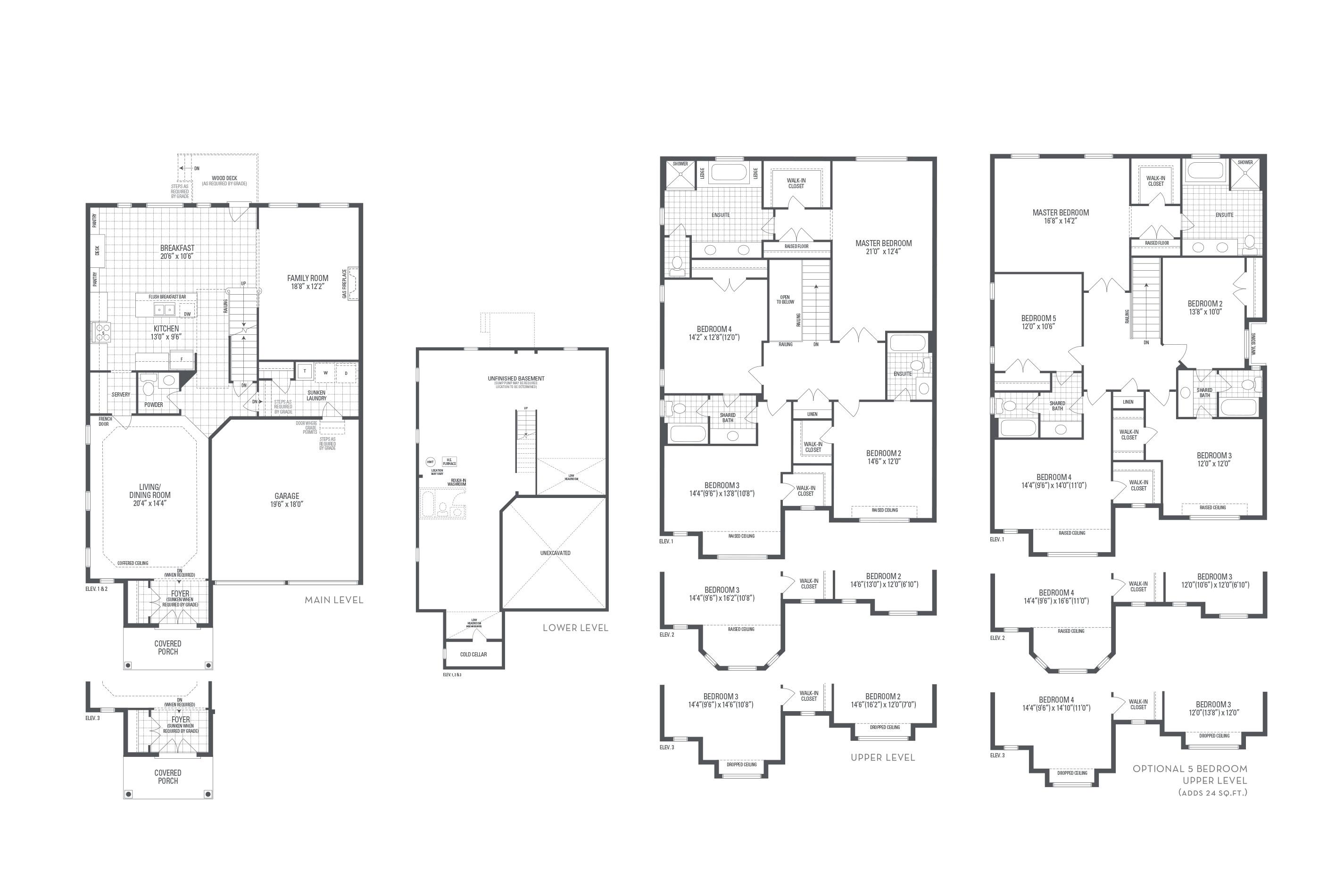 Crawford 02 Elev. 3 Floorplan