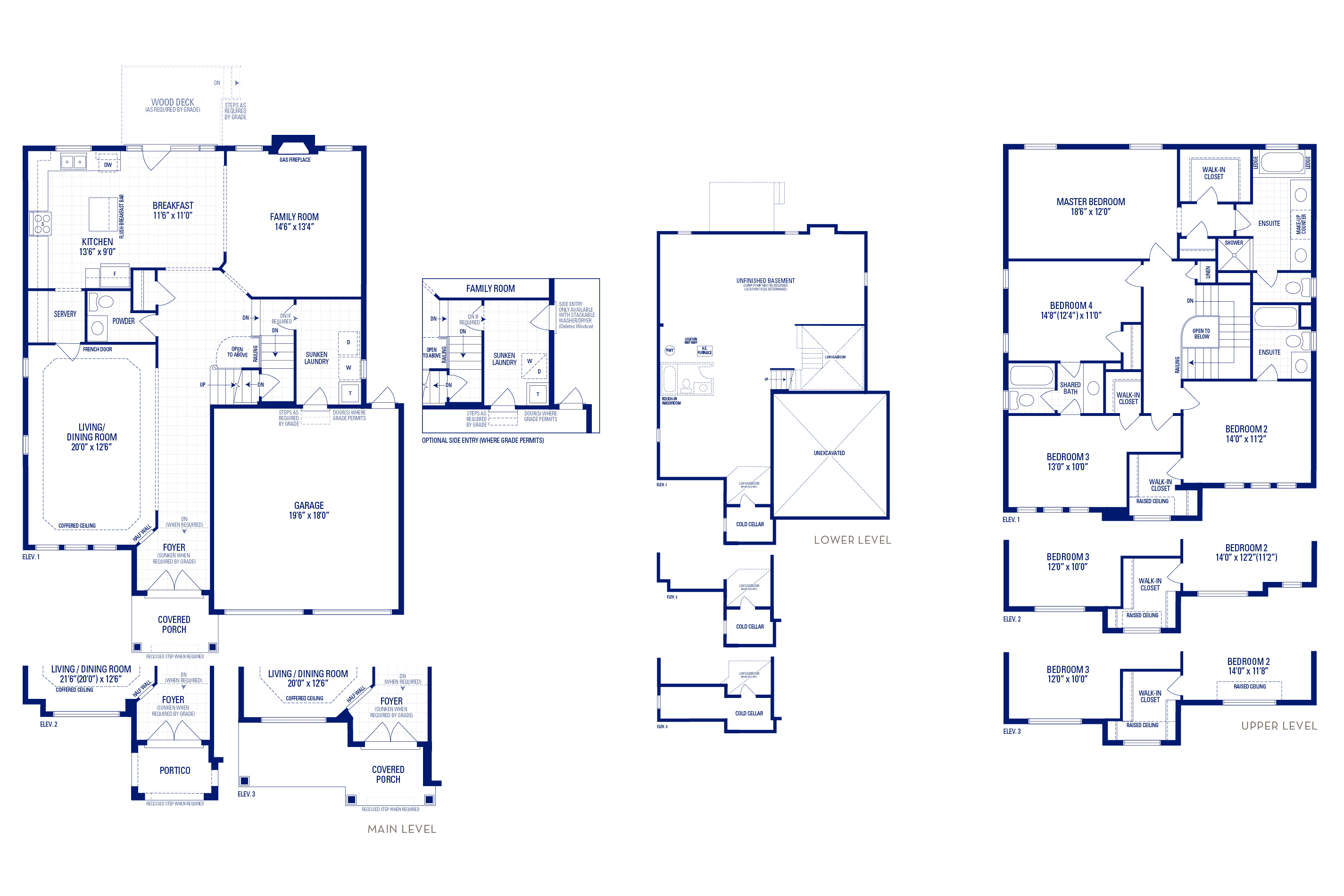Forester 01 Elev. 2 Floorplan