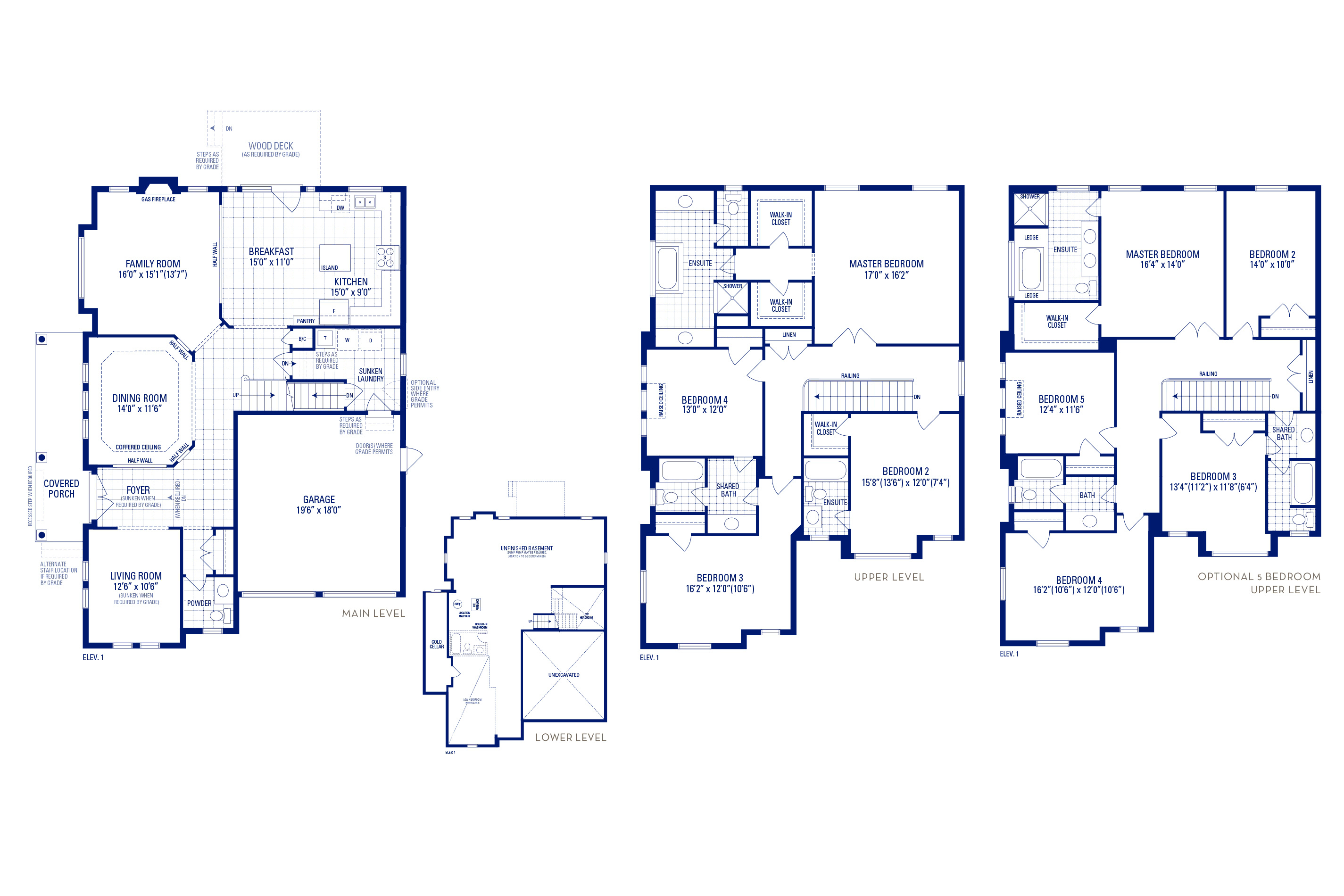 Forester 12 Elev. 1 Floorplan