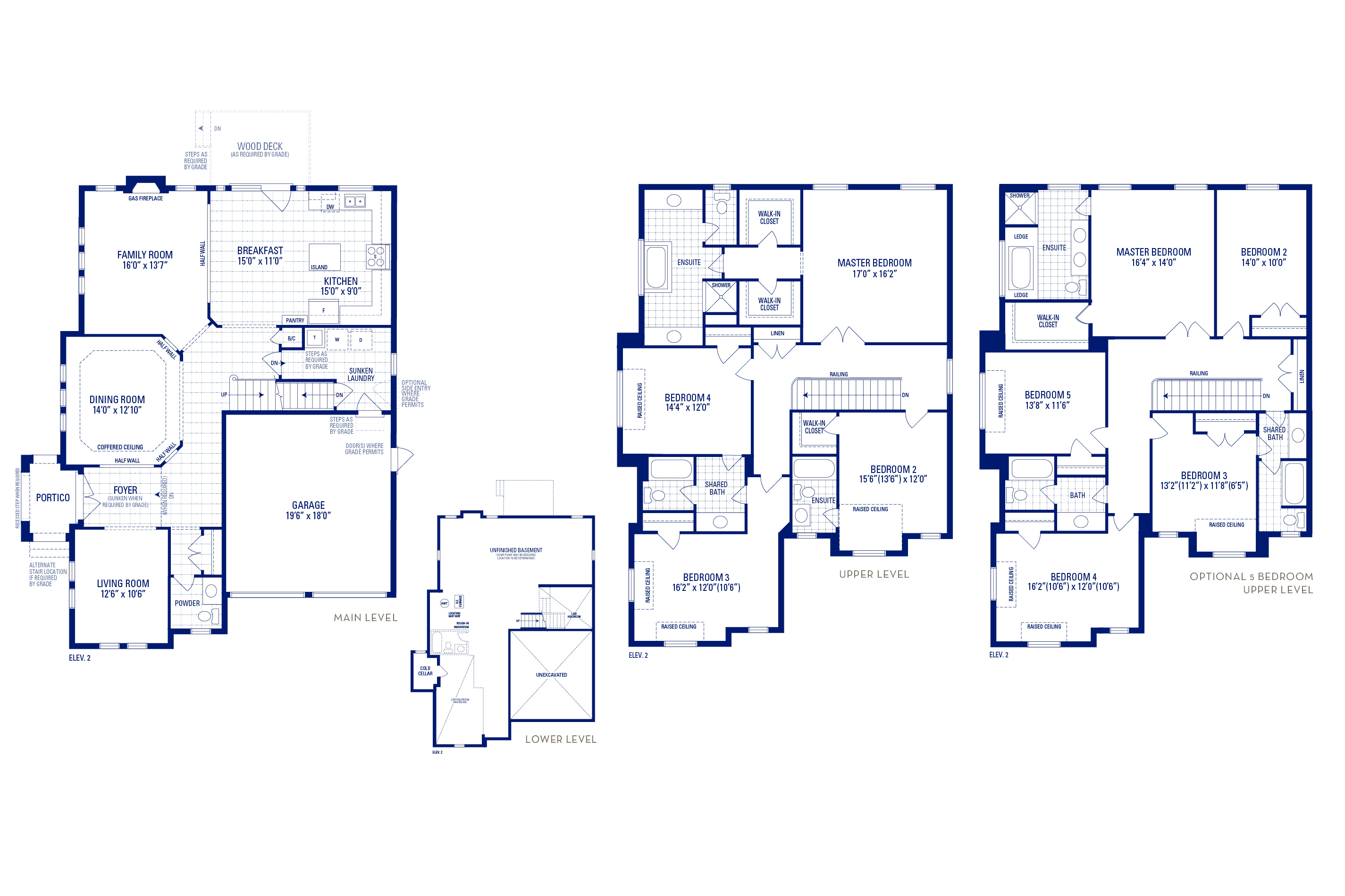 Forester 12 Elev. 2 Floorplan