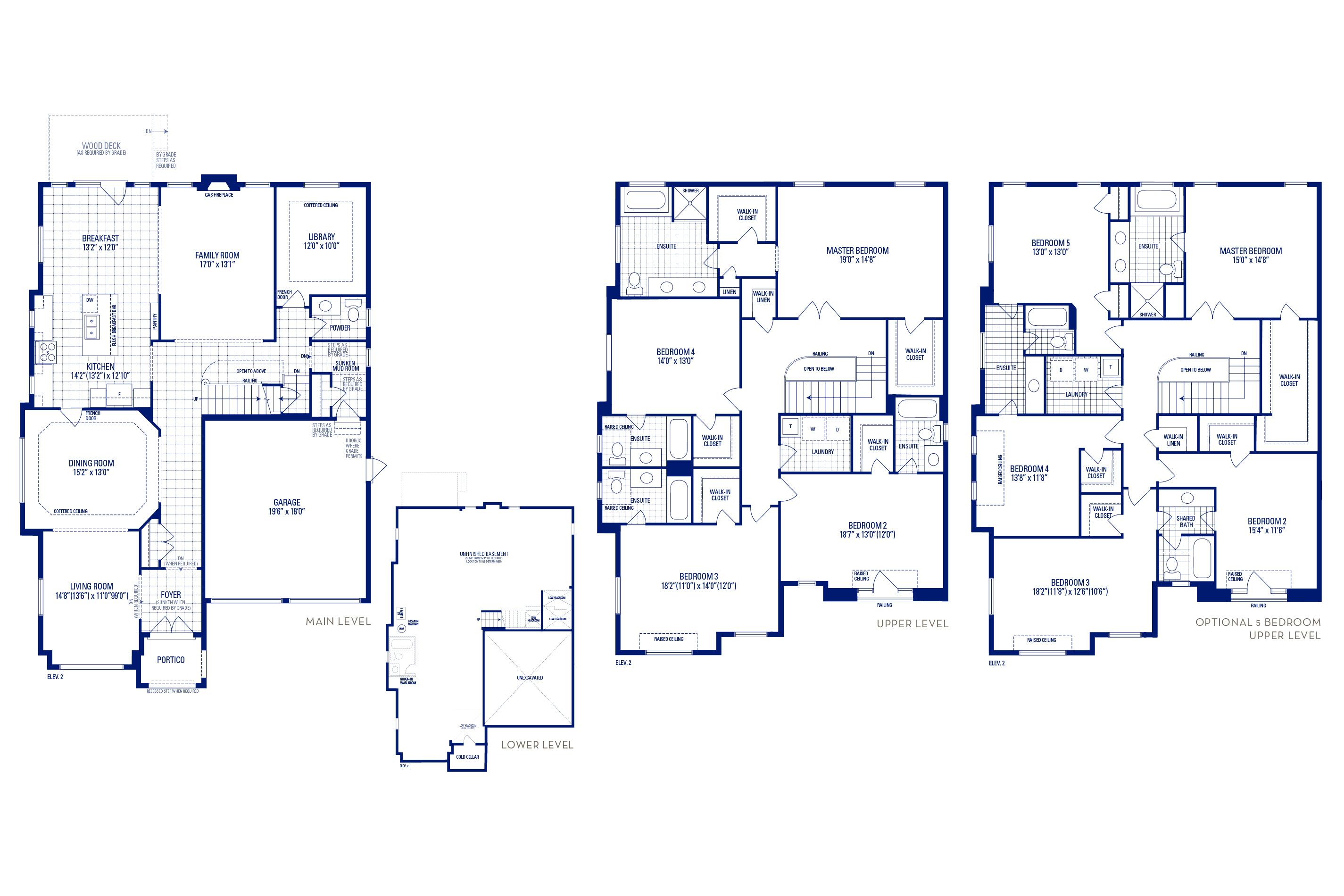 Forester 60 Elev. 2 Floorplan