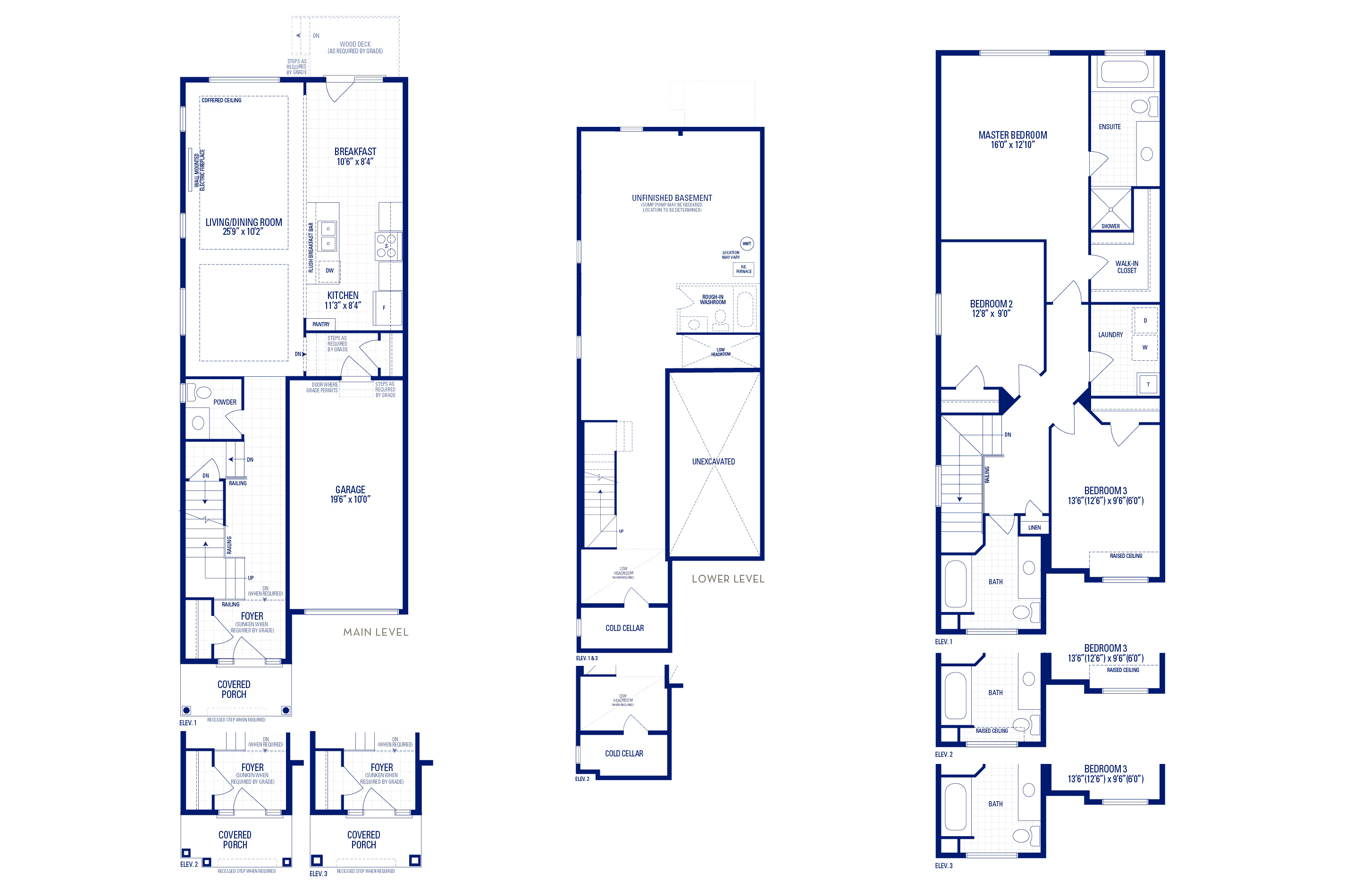 Glendale 06 Elev. 1 Floorplan