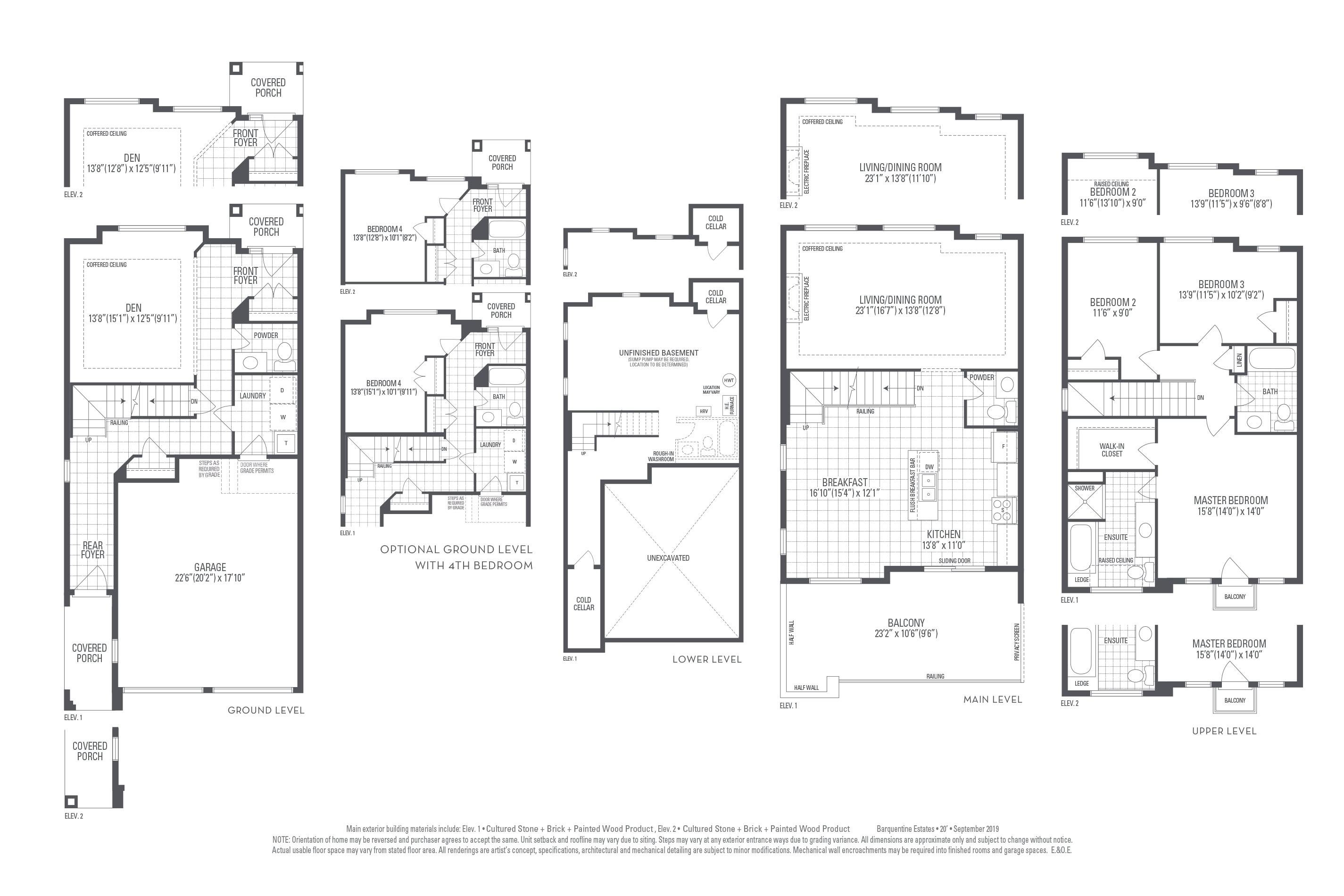 Greenwich 02 Elev. 2 Floorplan