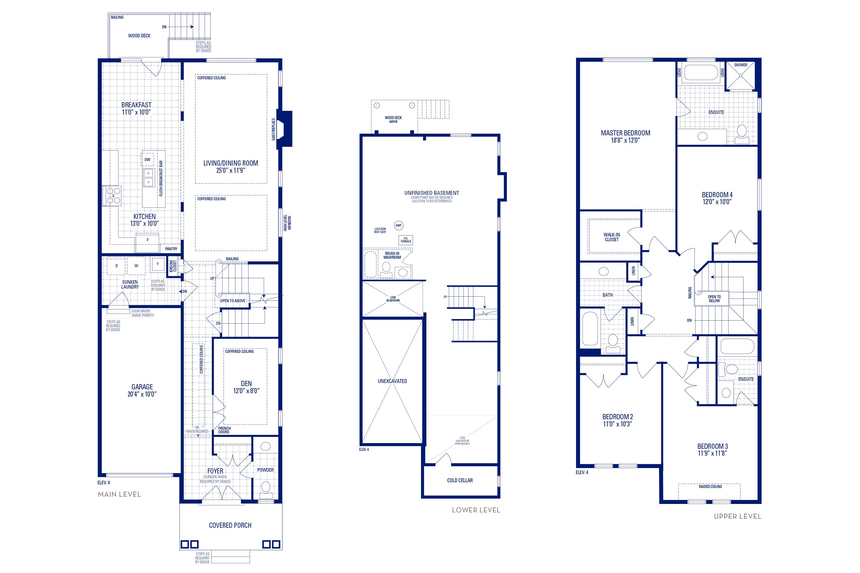 Heritage 05 Elev. 4 Floorplan