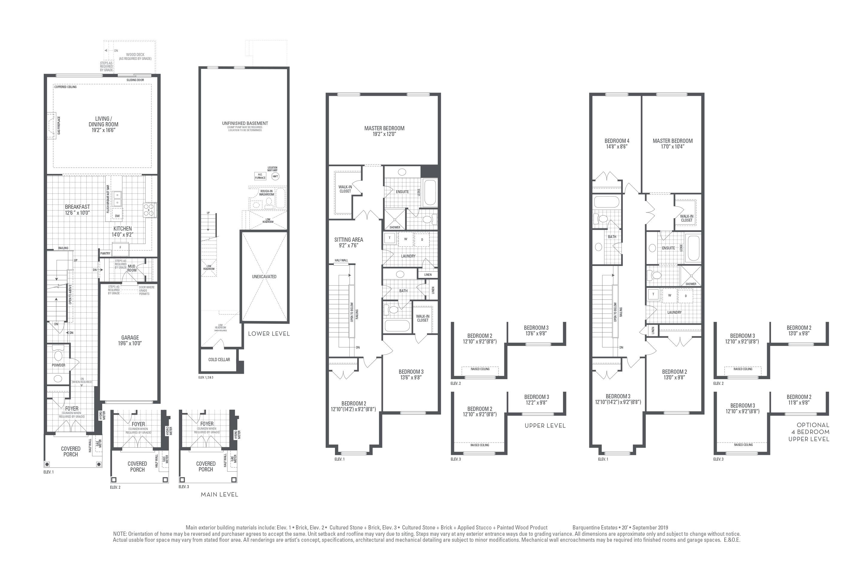 Hudson 04 Elev. 2 Floorplan