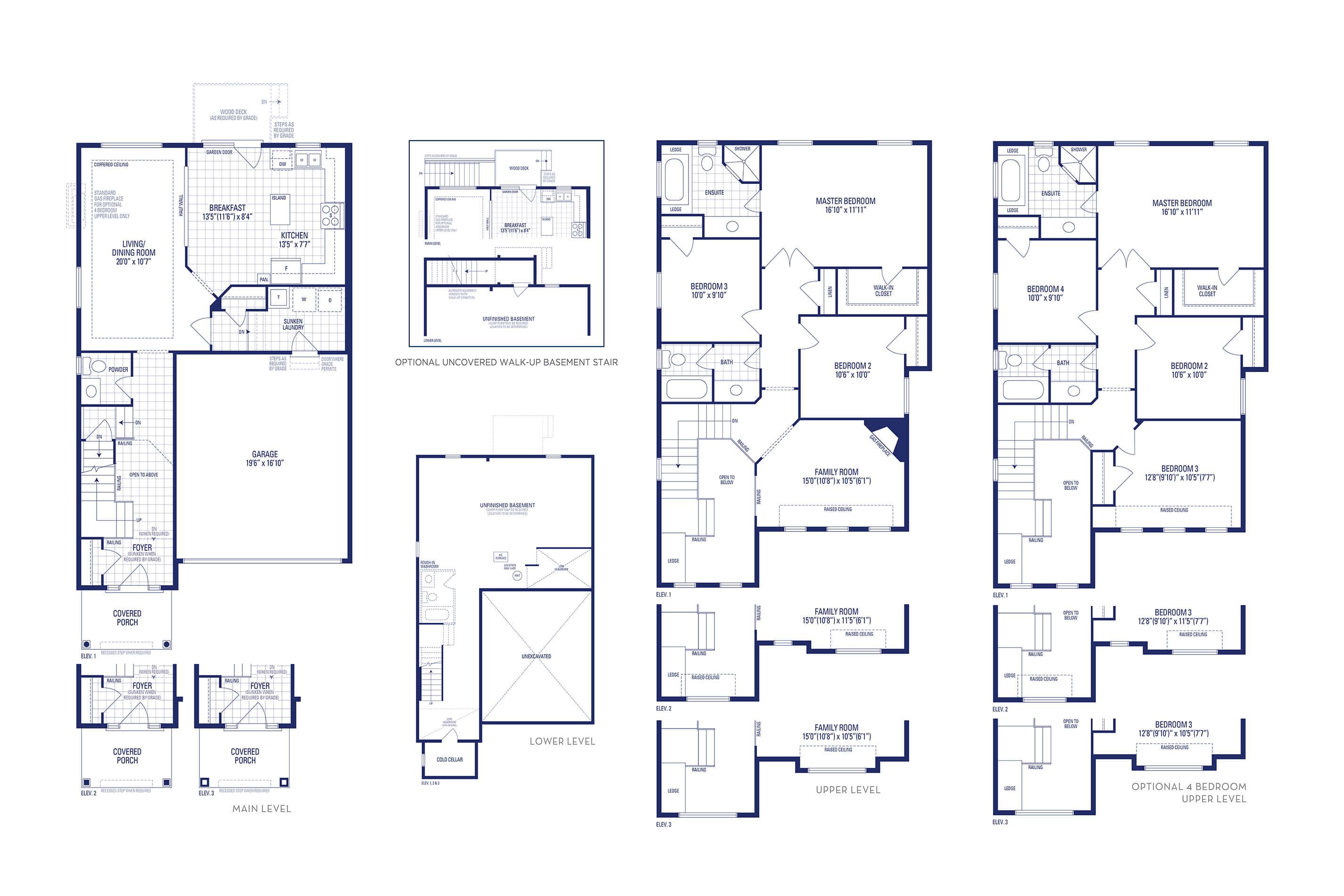 Jersey 02 Elev. 3 Floorplan