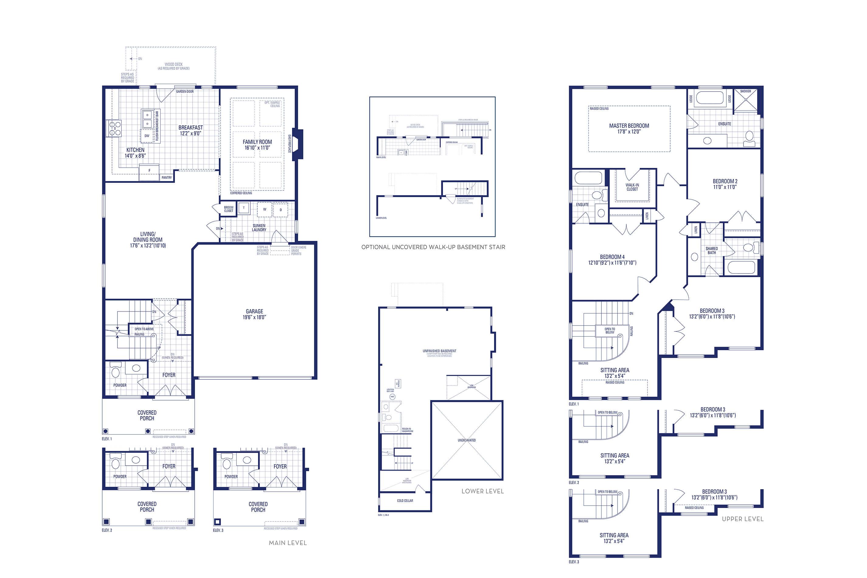 Lincoln 2 Elev. 3 Floorplan