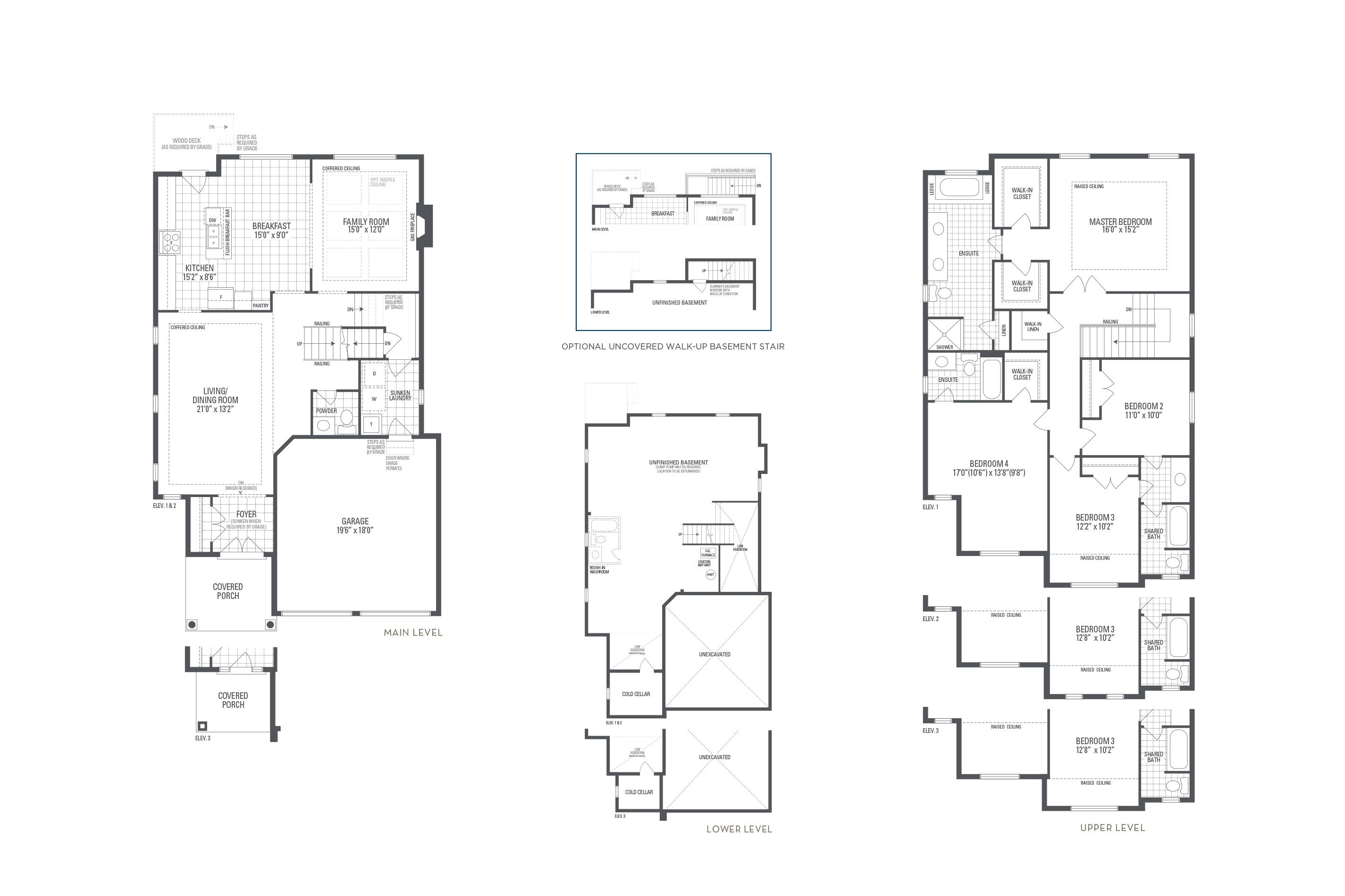 Manhattan 01 Elev. 3 Floorplan