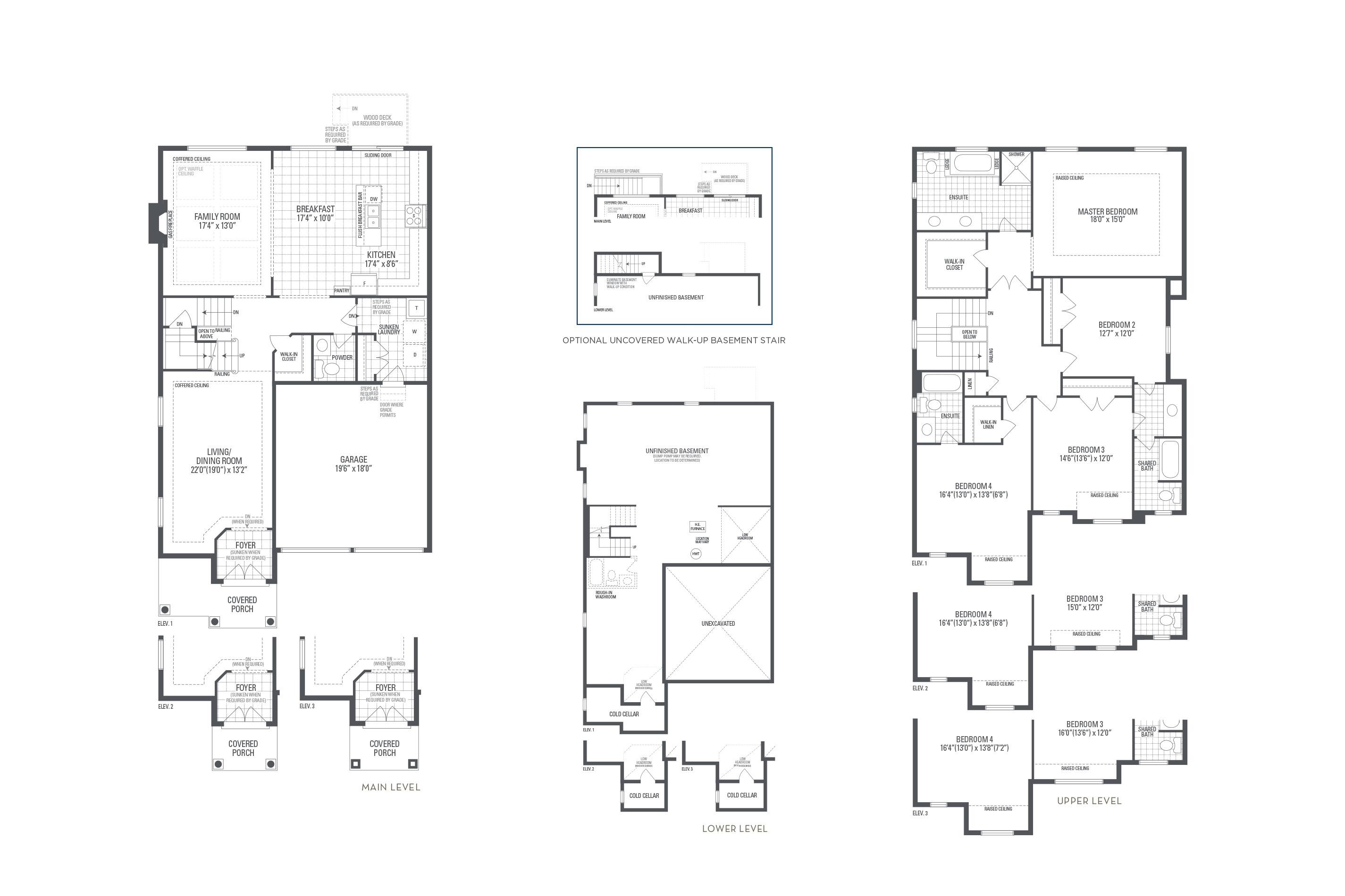 Manhattan 02 Elev. 2 Floorplan