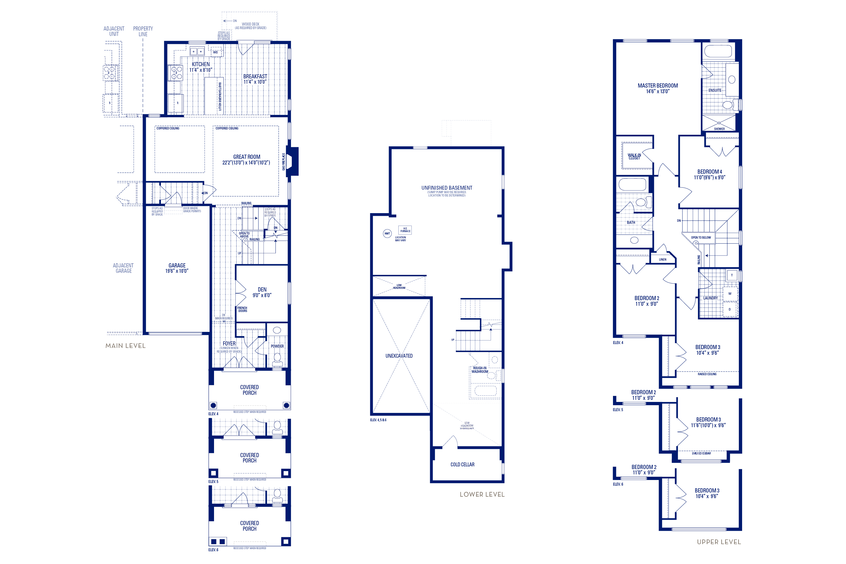 Newberry 02 Elev. 6 Floorplan