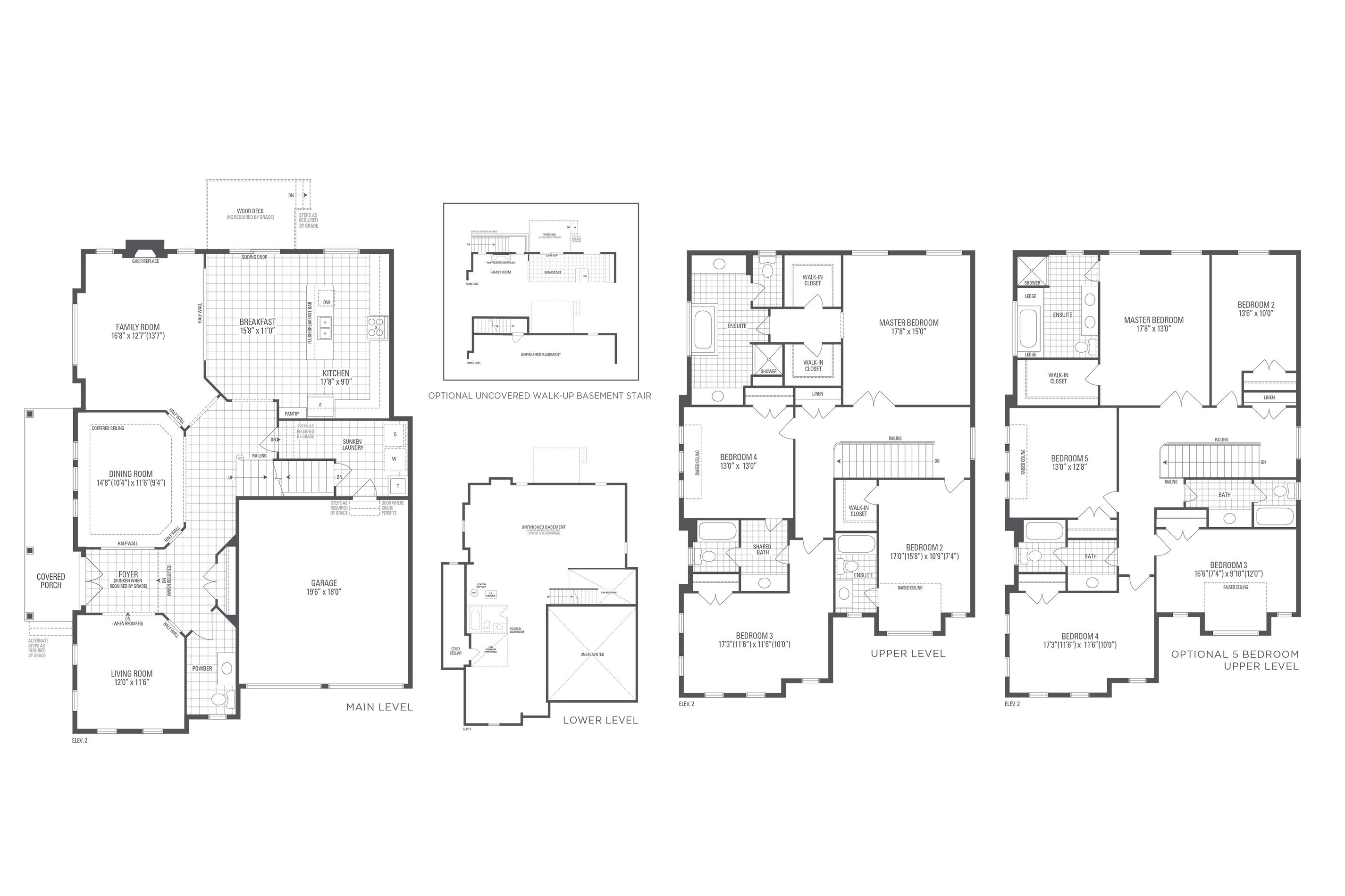Spencer 12 Elev. 2 Floorplan