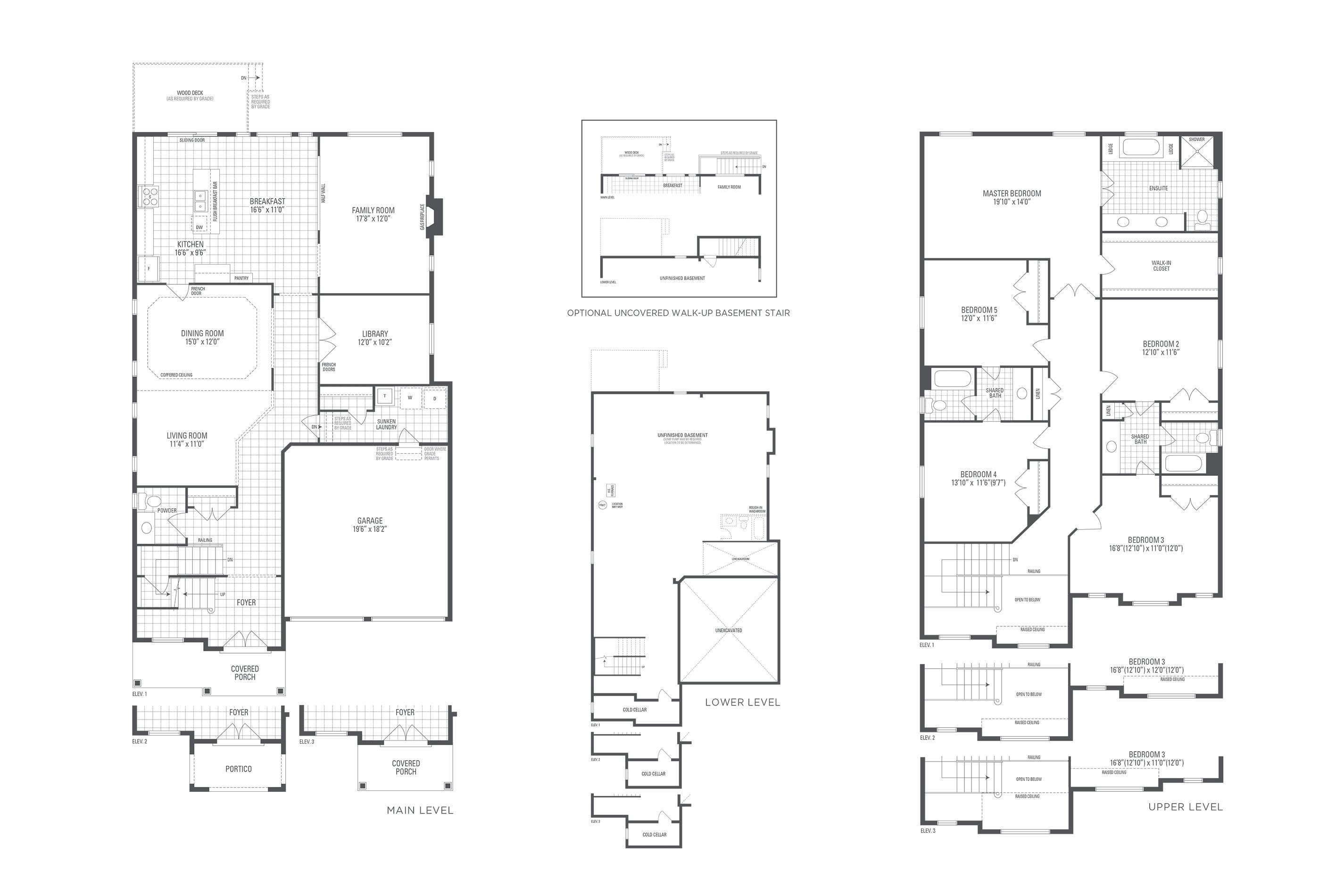Spencer 04 Elev. 2 Floorplan