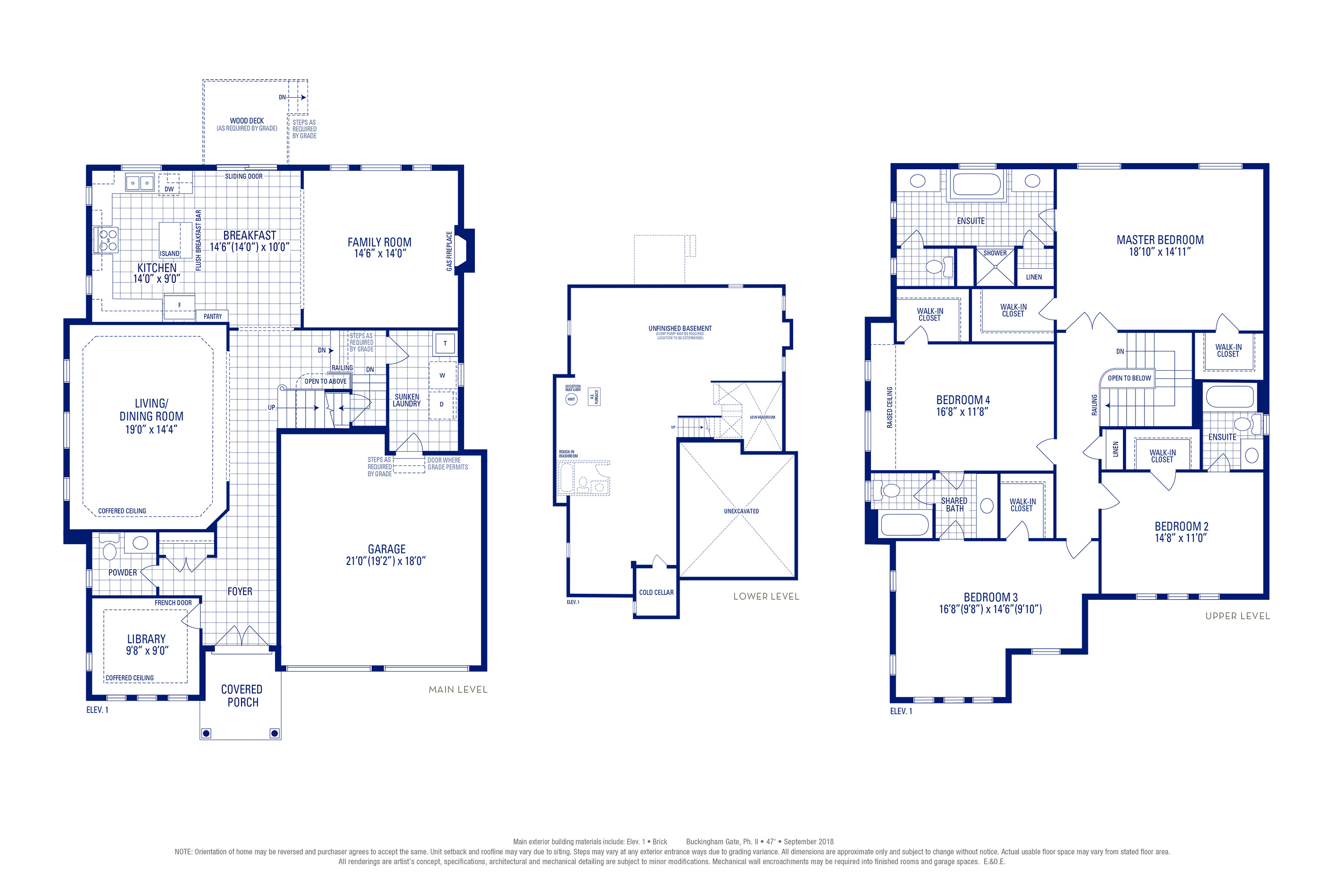 Stafford 12 Elev. 1 Floorplan