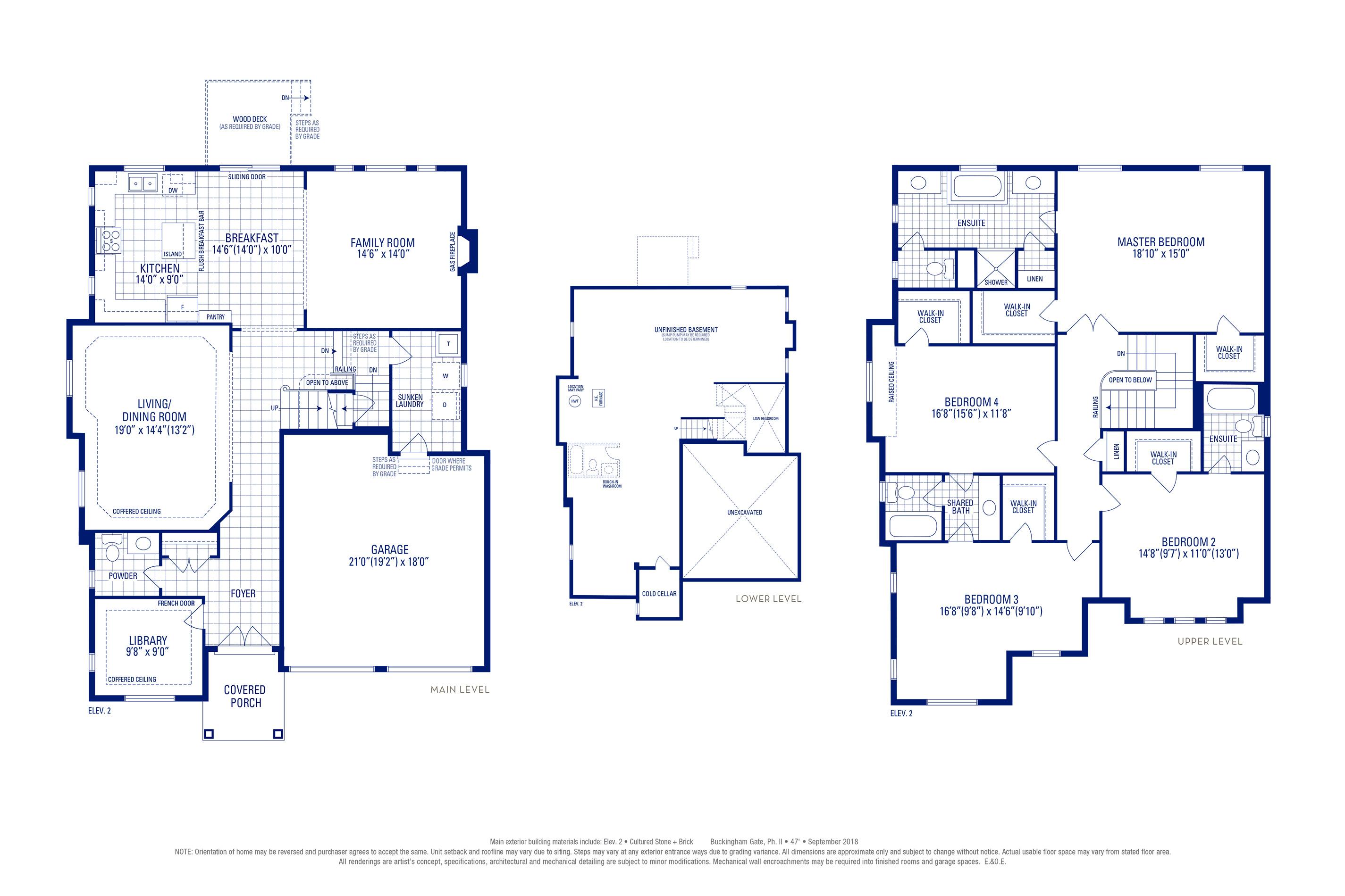 Stafford 12 Elev. 2 Floorplan