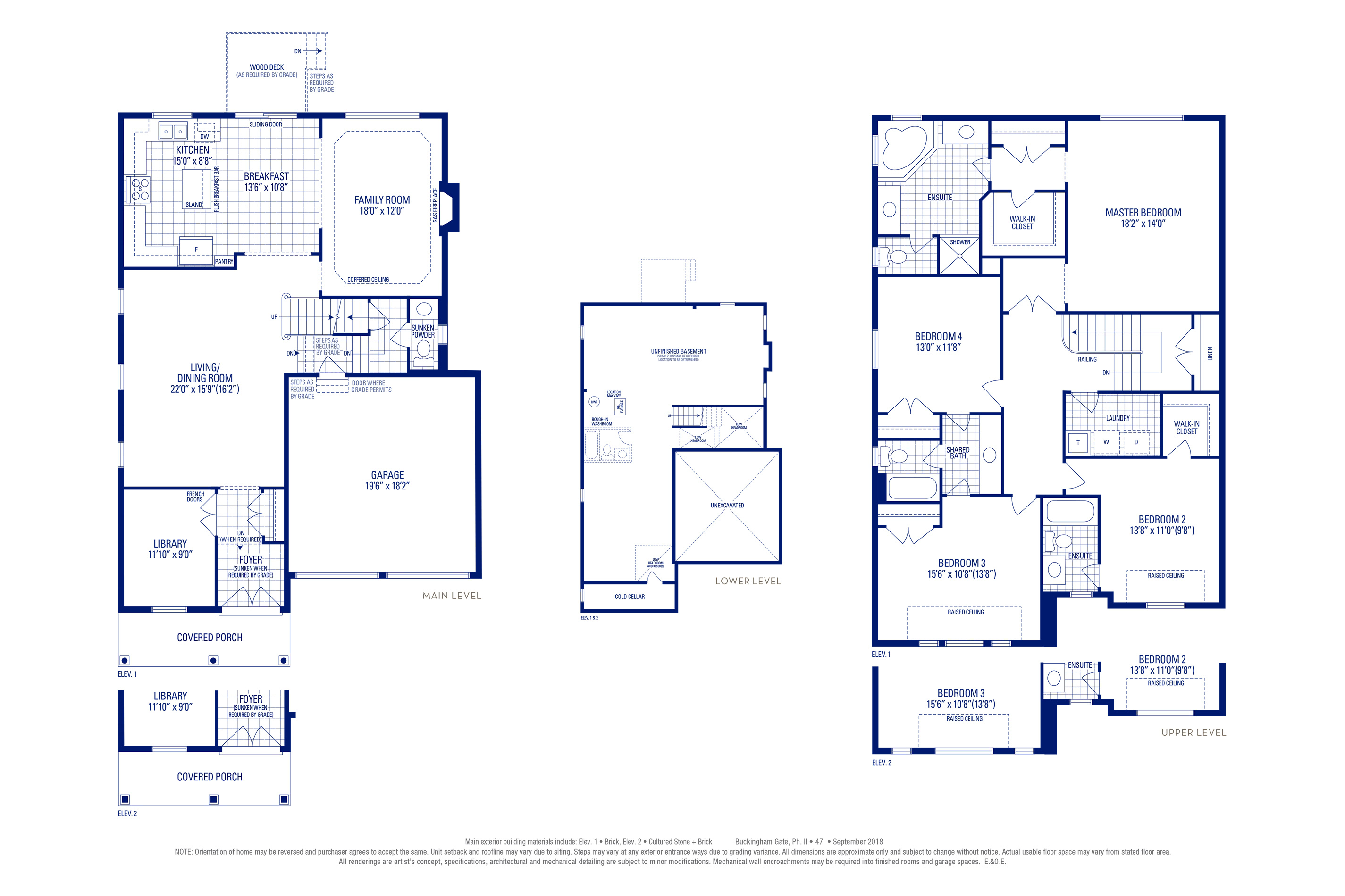 Stafford 03 Elev. 1 Floorplan