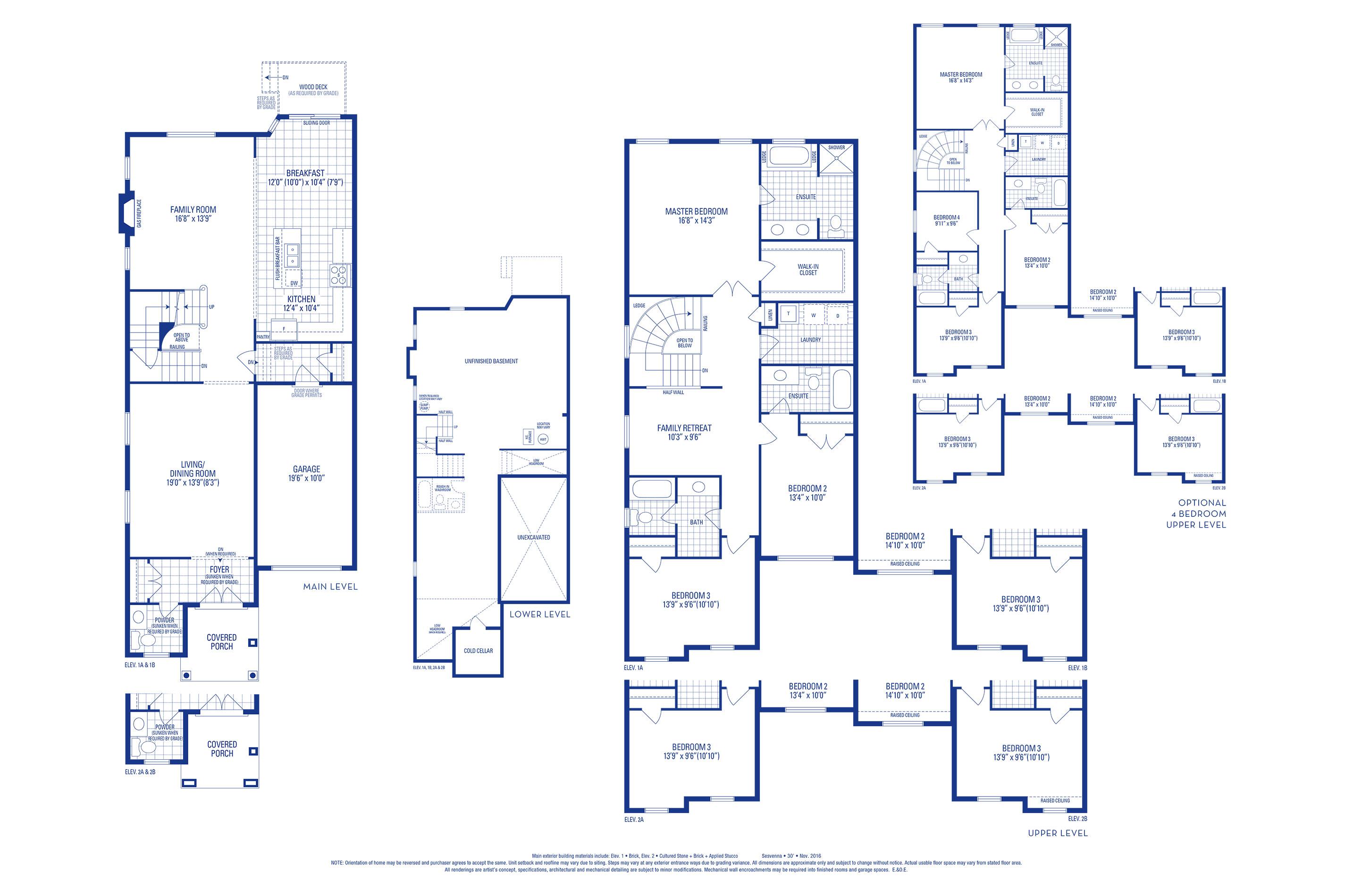 Sutton 07 Elev. 2A Floorplan