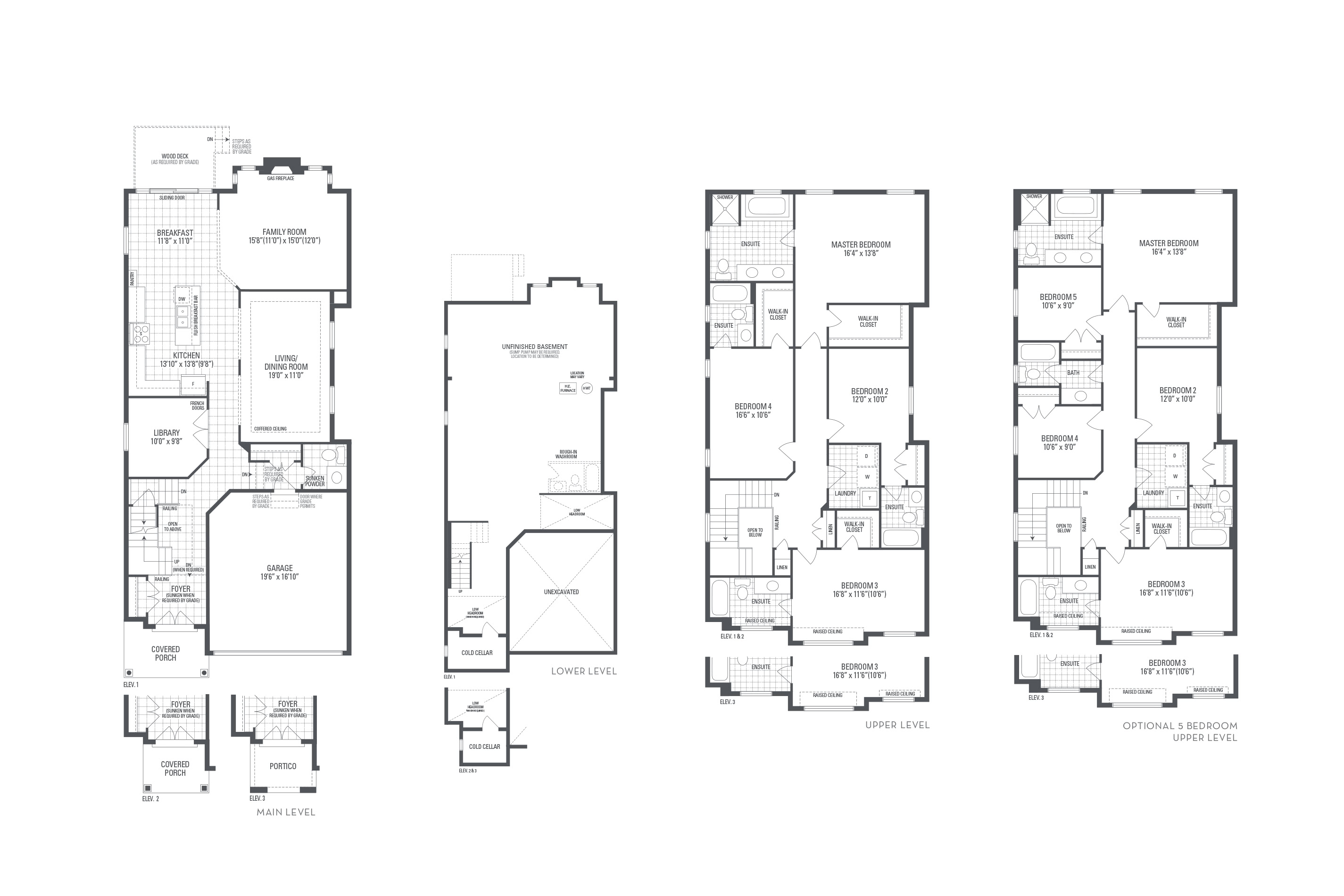Bronte 09 Elev. 2 Floorplan Thumbnail