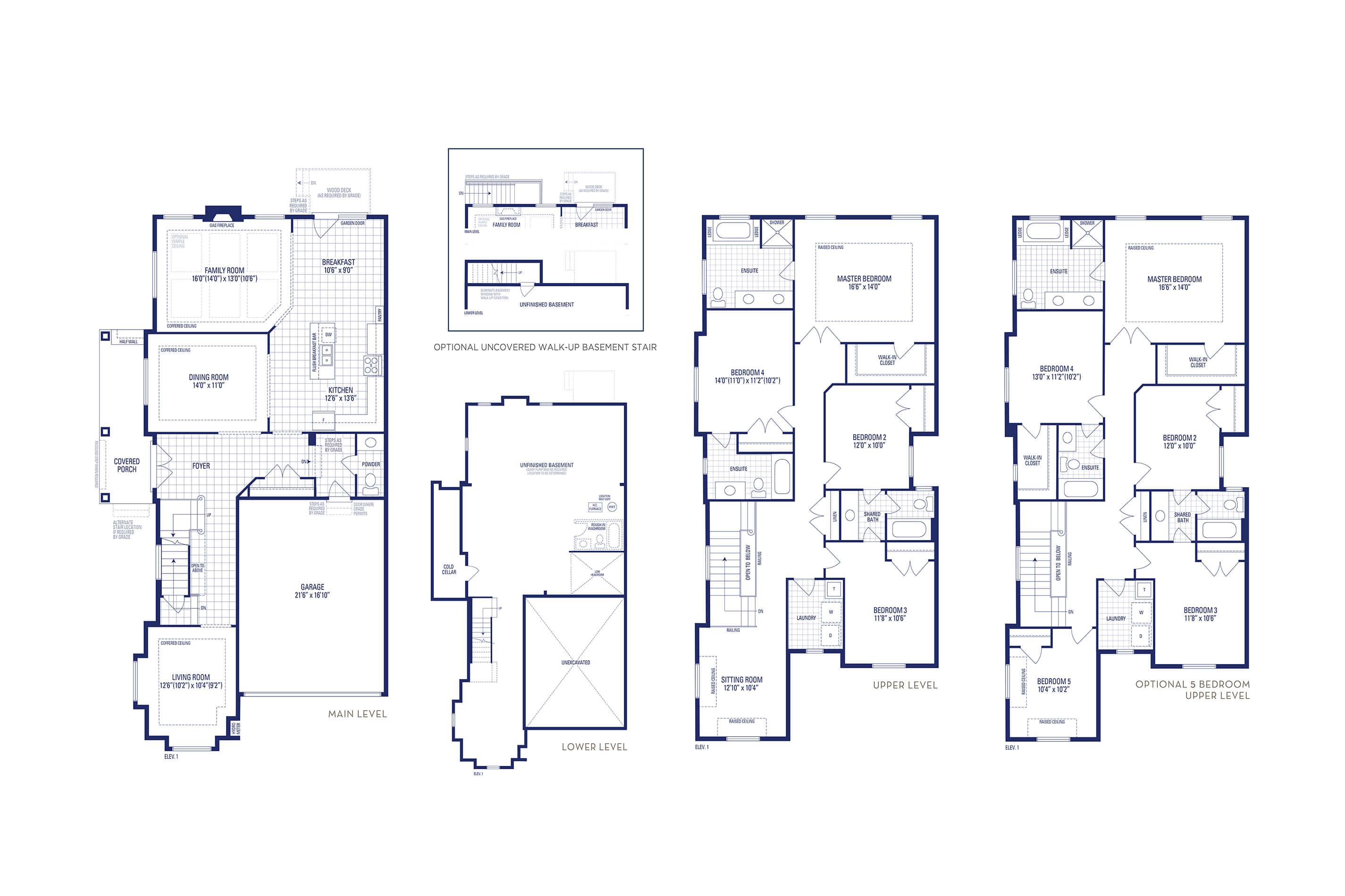 Brooklyn 12 Elev. 1 Floorplan Thumbnail
