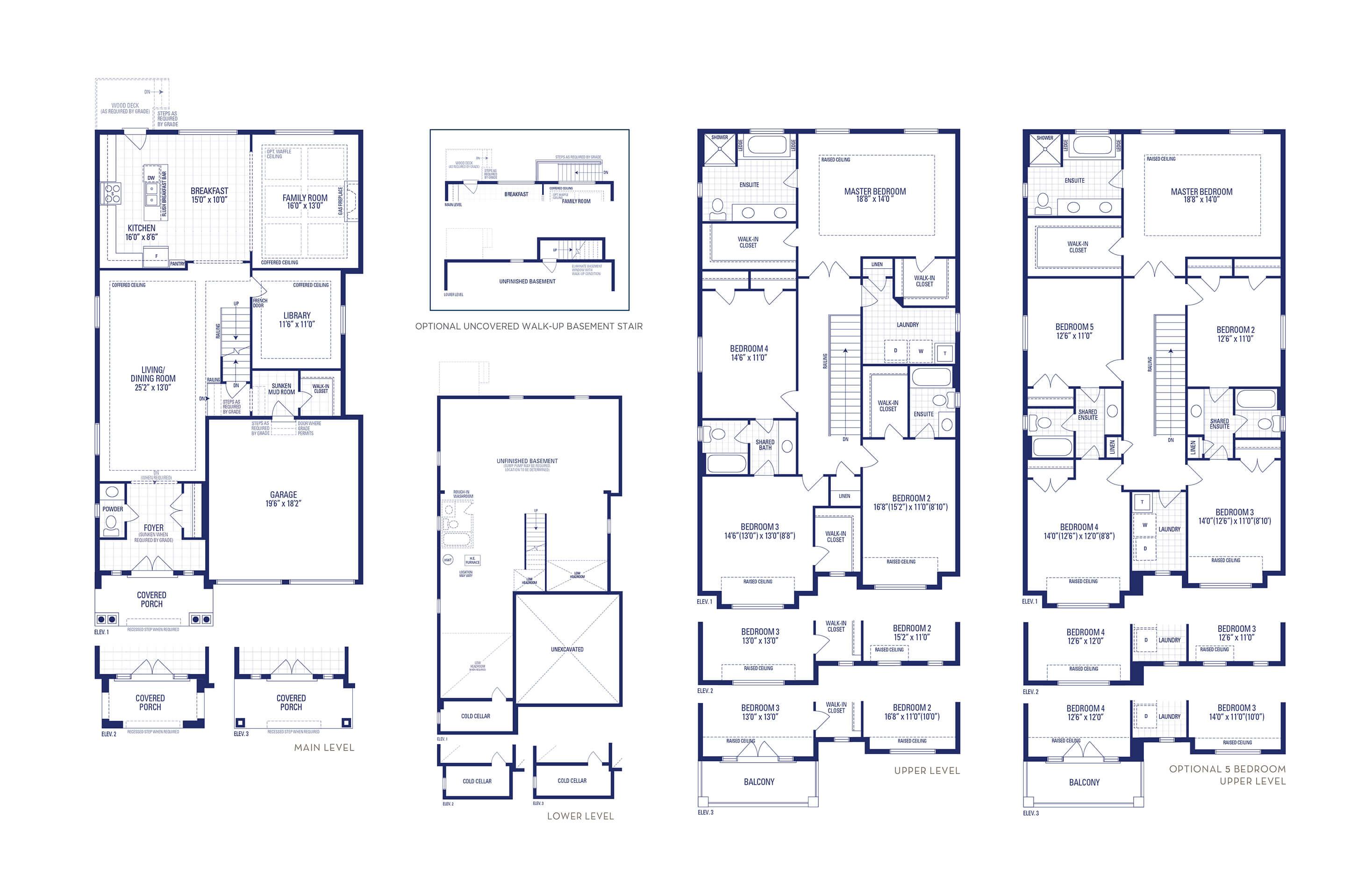 Carnegie 30A Elev. 3 Floorplan Thumbnail