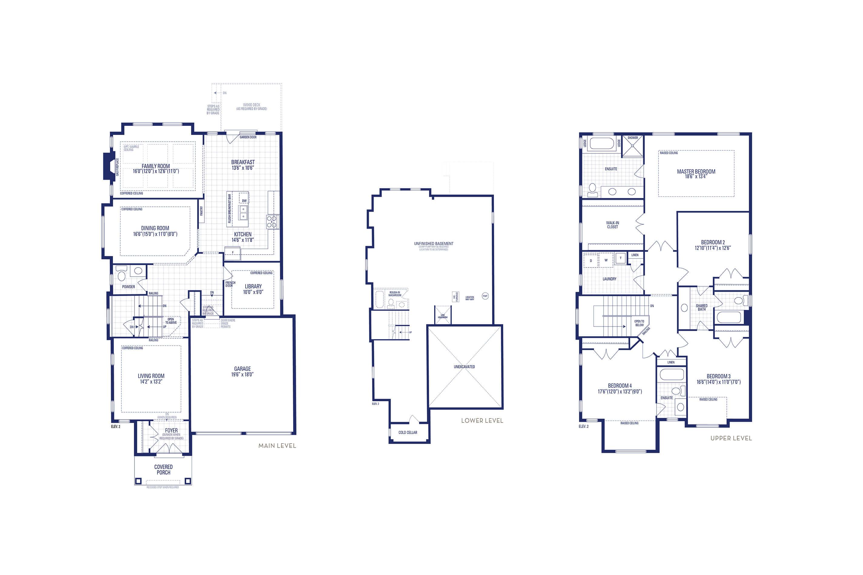 Carnegie 40 Elev. 2 Floorplan Thumbnail