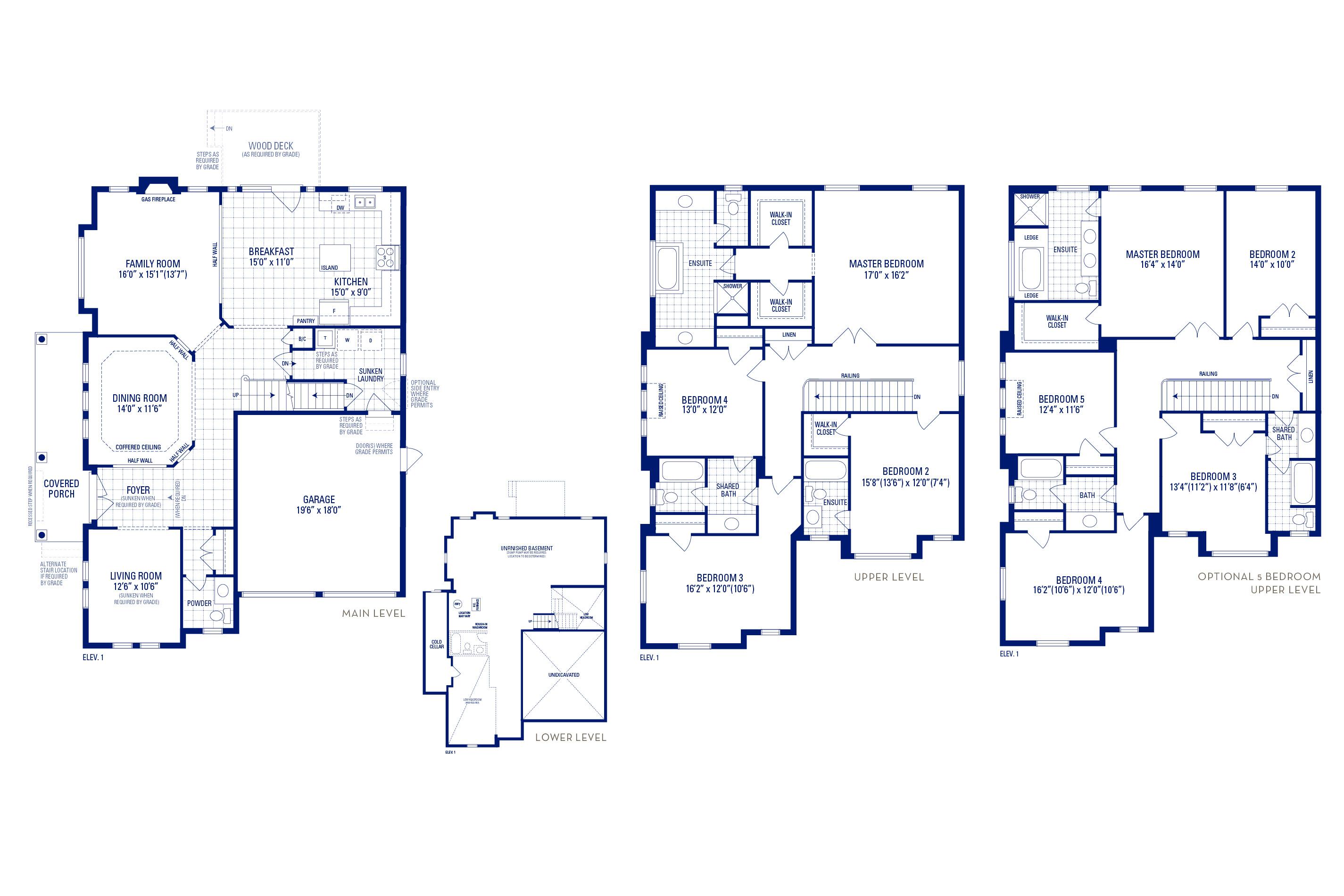 Forester 12 Elev. 1 Floorplan Thumbnail