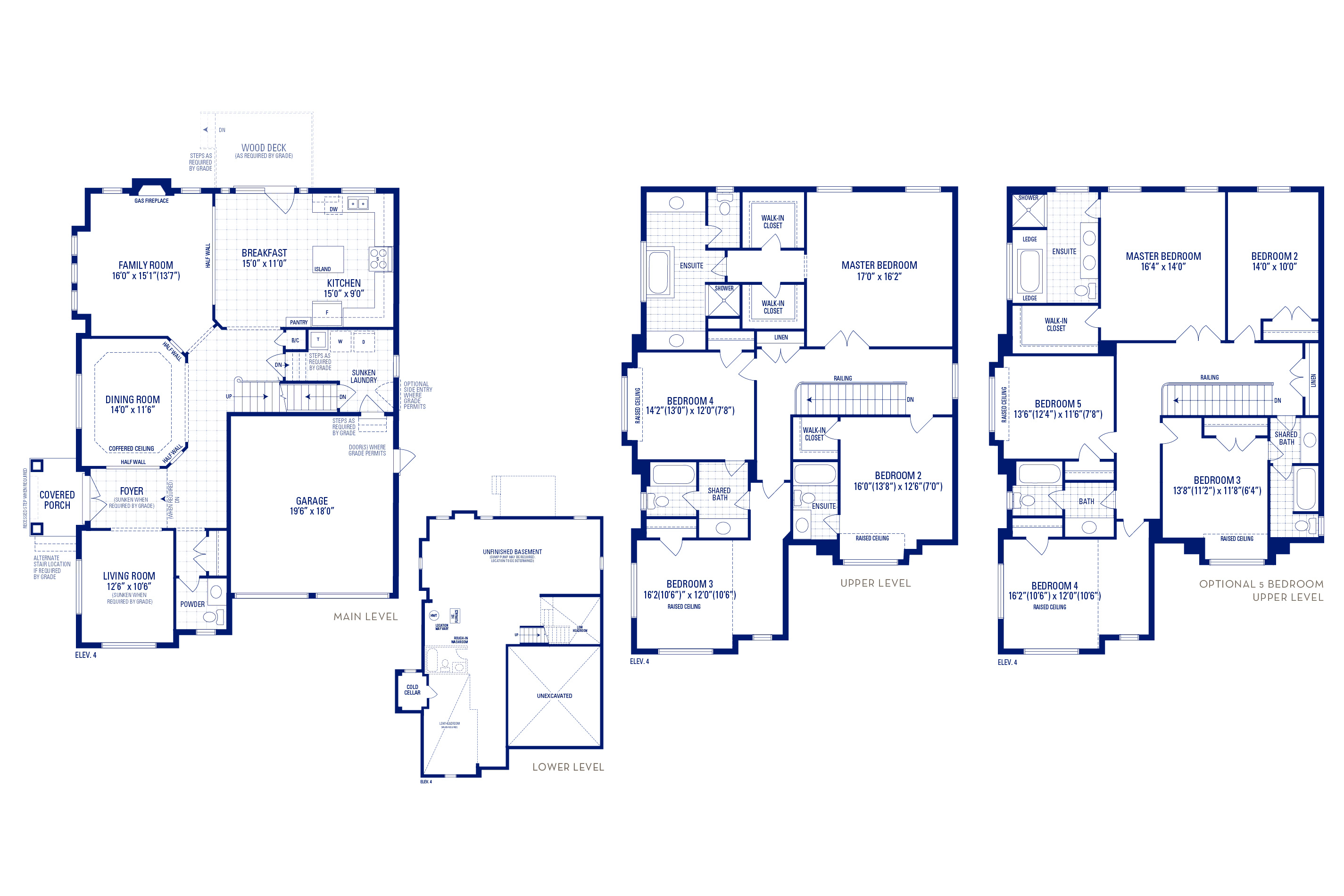 Forester 12 Elev. 3 Floorplan Thumbnail