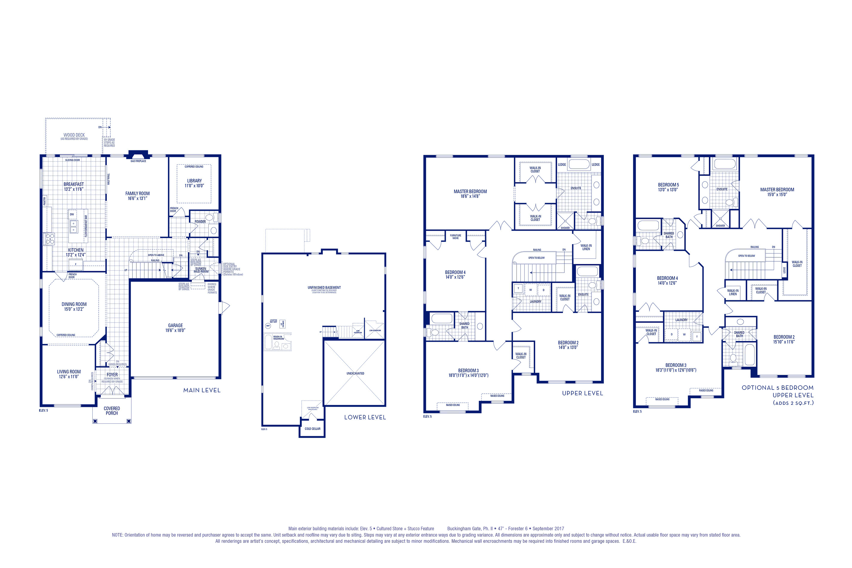 Forester 06 Elev. 5 Floorplan Thumbnail