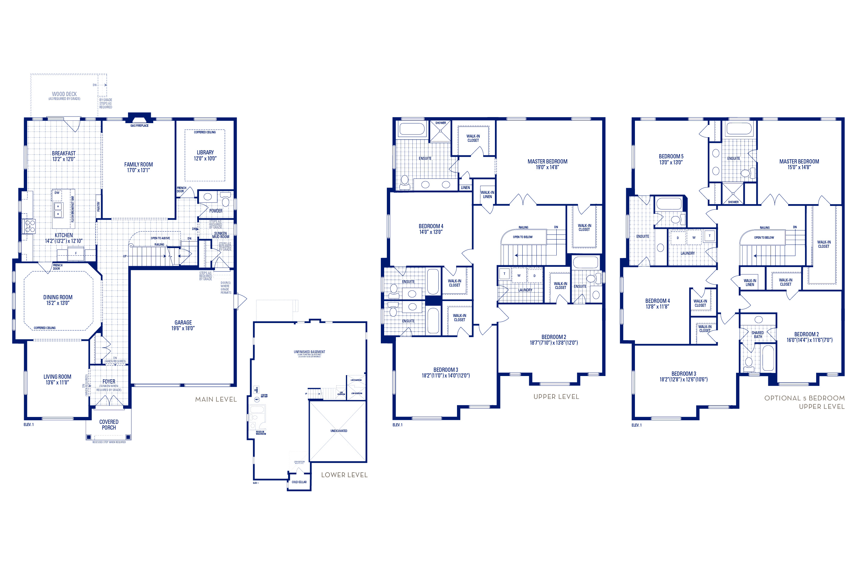 Forester 60 Elev. 1 Floorplan Thumbnail