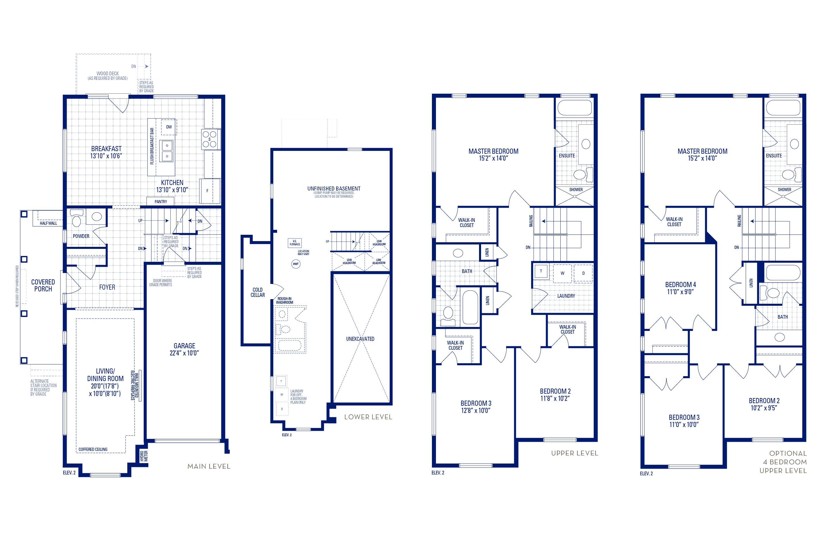 Glendale 12 Elev. 2 Floorplan Thumbnail