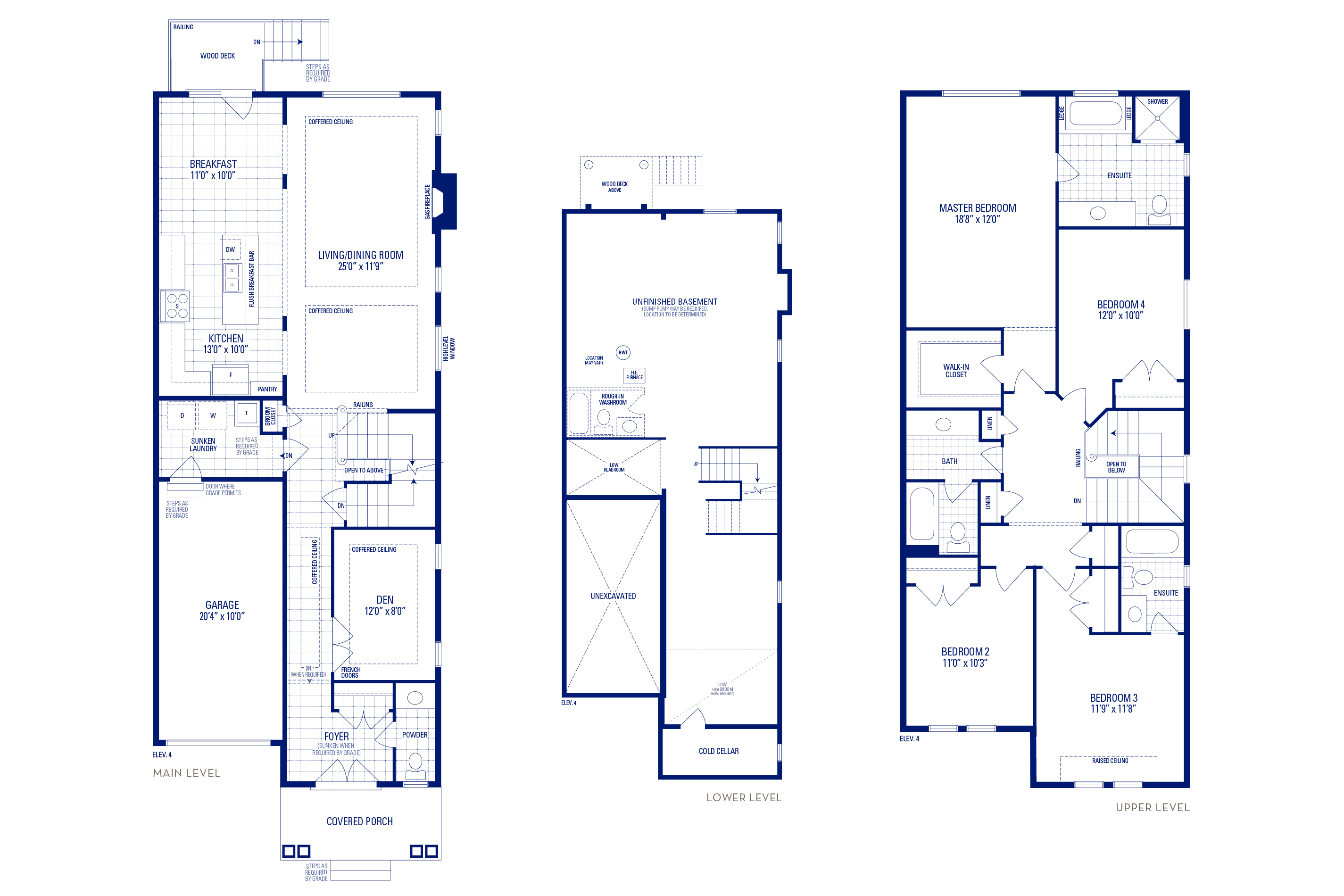 Heritage 05 Elev. 4 Floorplan Thumbnail