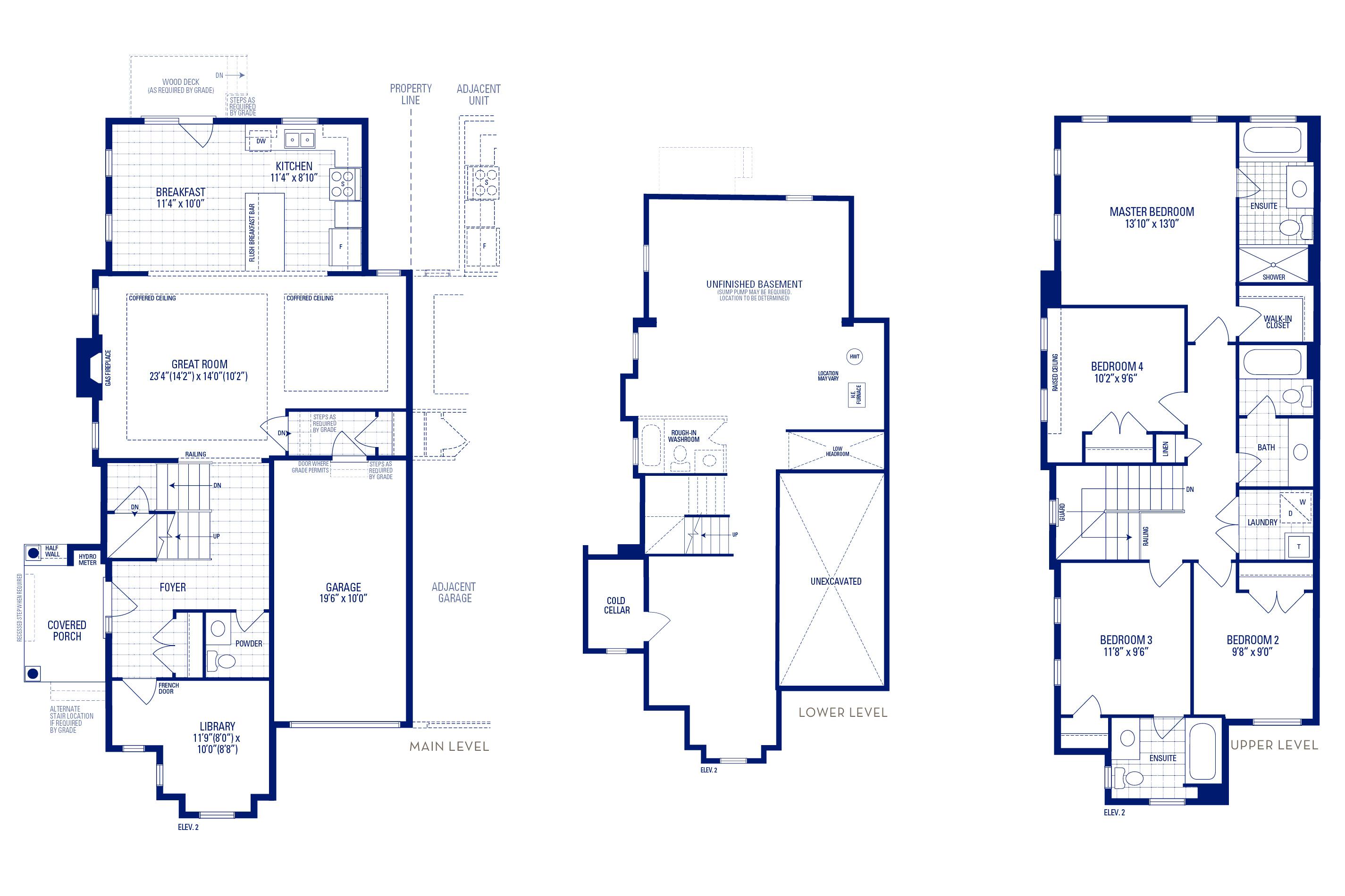 Newberry 12 Elev. 2 Floorplan Thumbnail