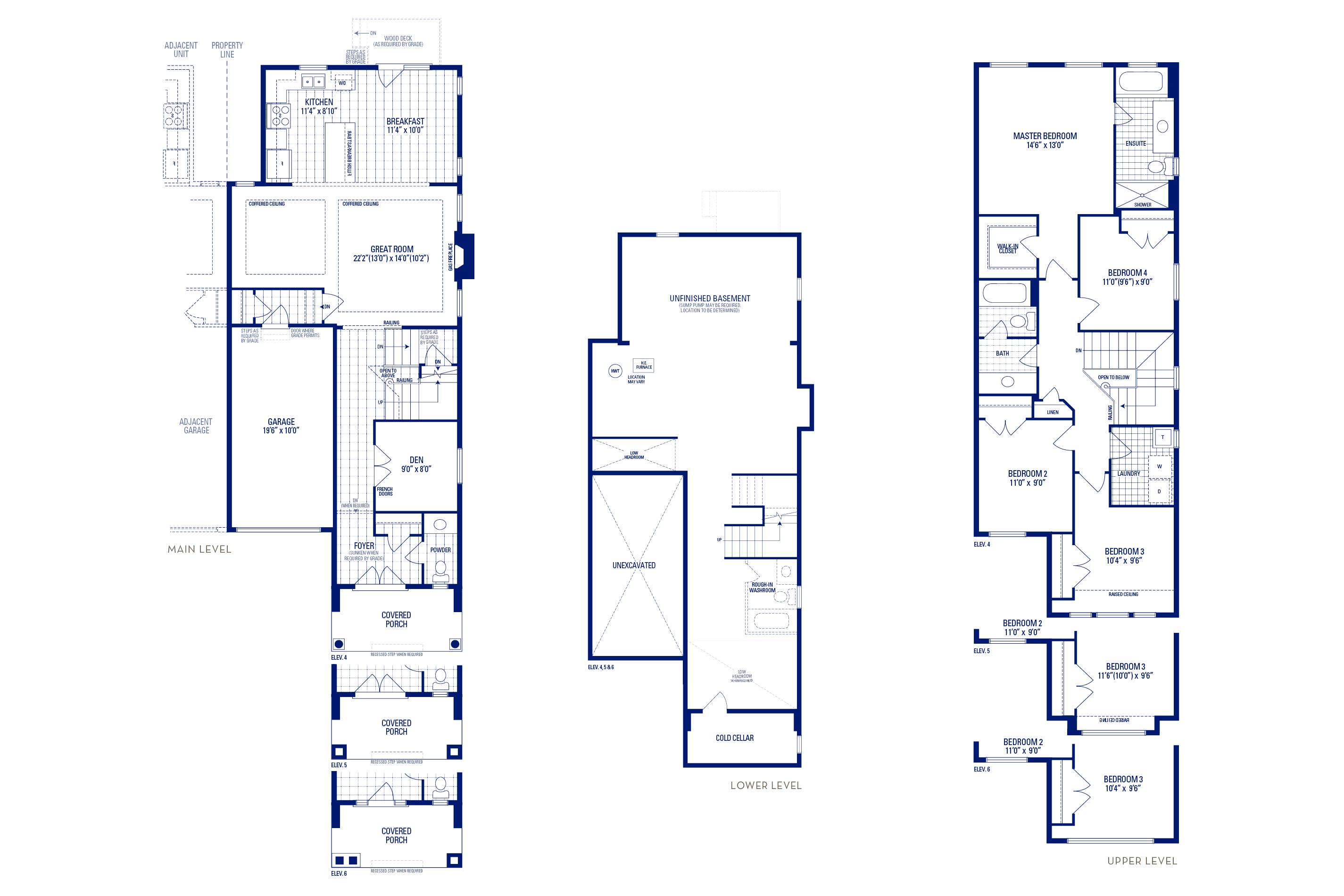Newberry 2 Elev. 4 Floorplan Thumbnail