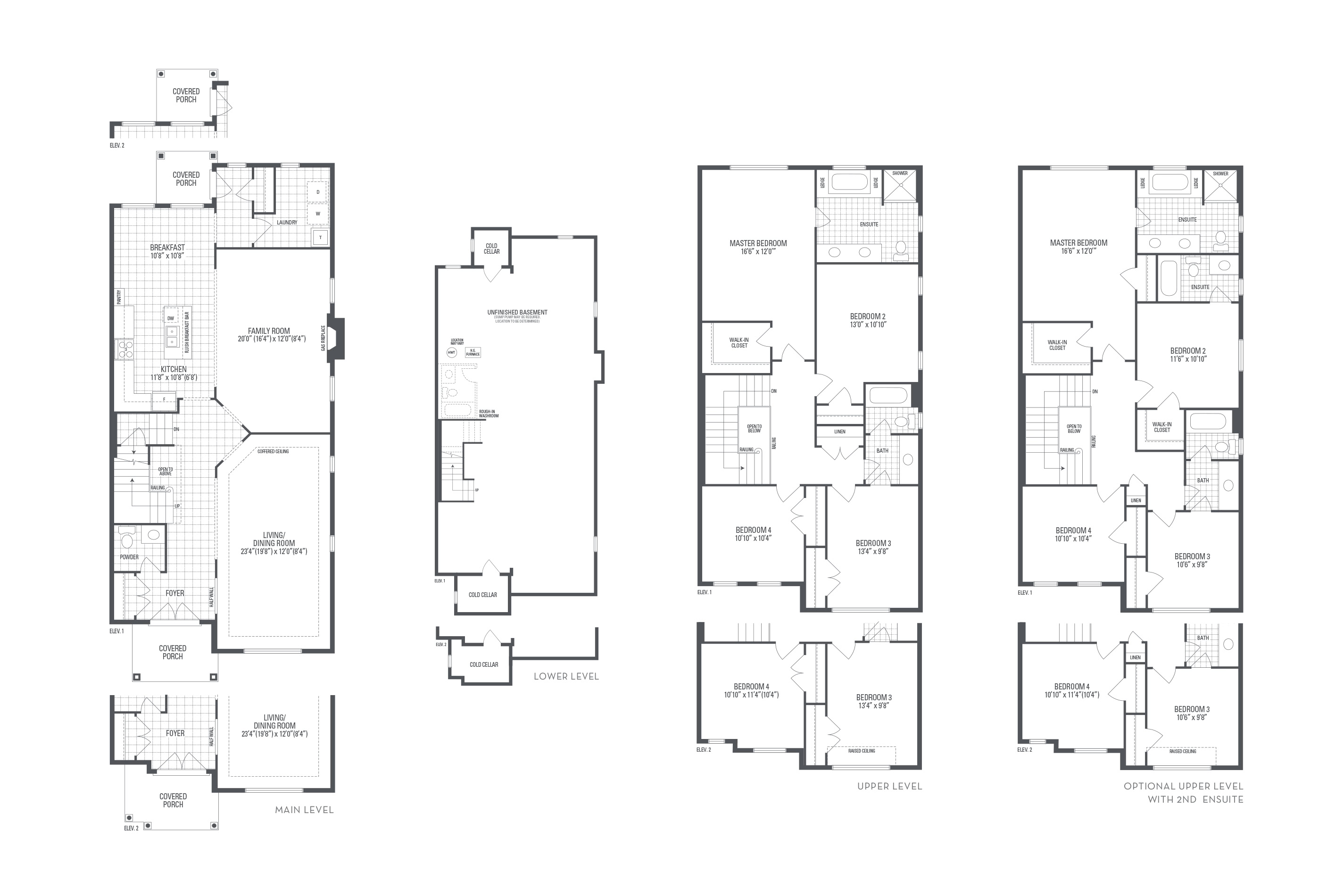 Savana 01 Elev. 1 Floorplan Thumbnail