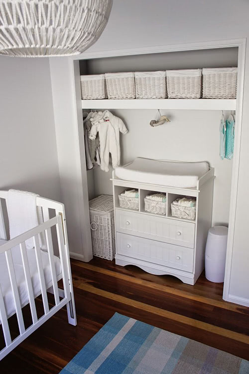 Baby Nursery Storage Space