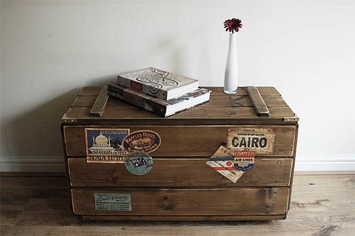 Travel Trunk Storage Solution