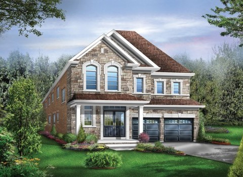 Huntington 05 Elev. 3 Home Model