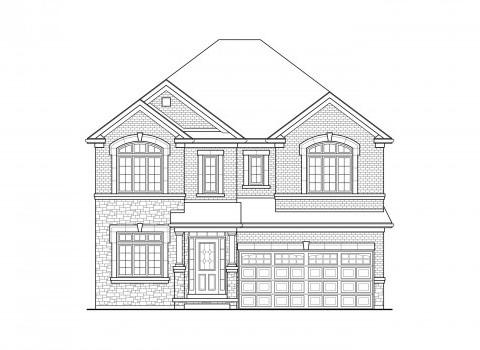 Spencer 02 Elev. 1A Home Model