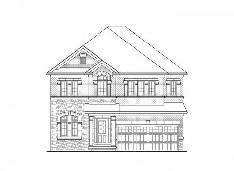 Spencer 03 Elev. 1A Home Model