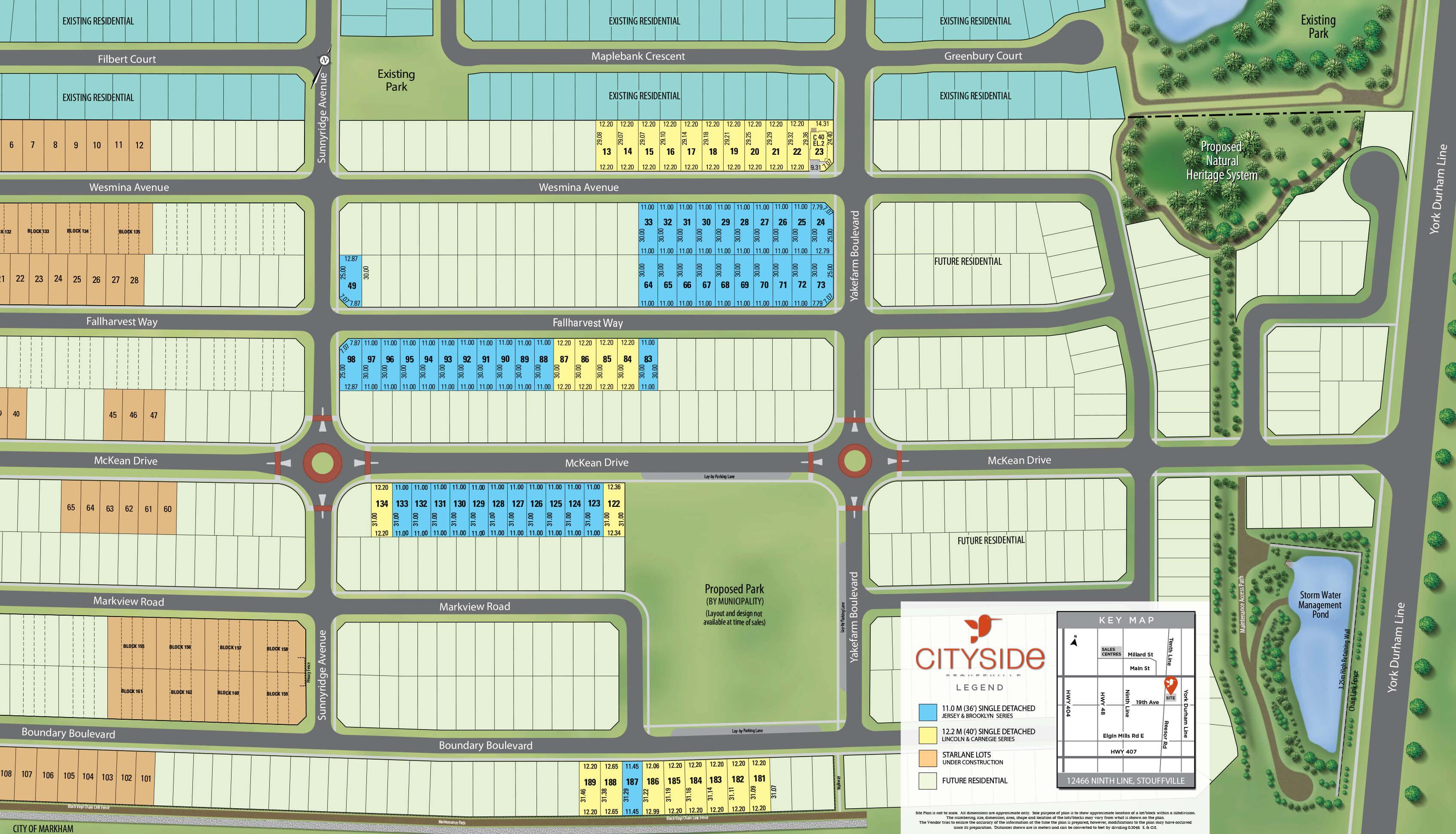 Cityside Site Plan