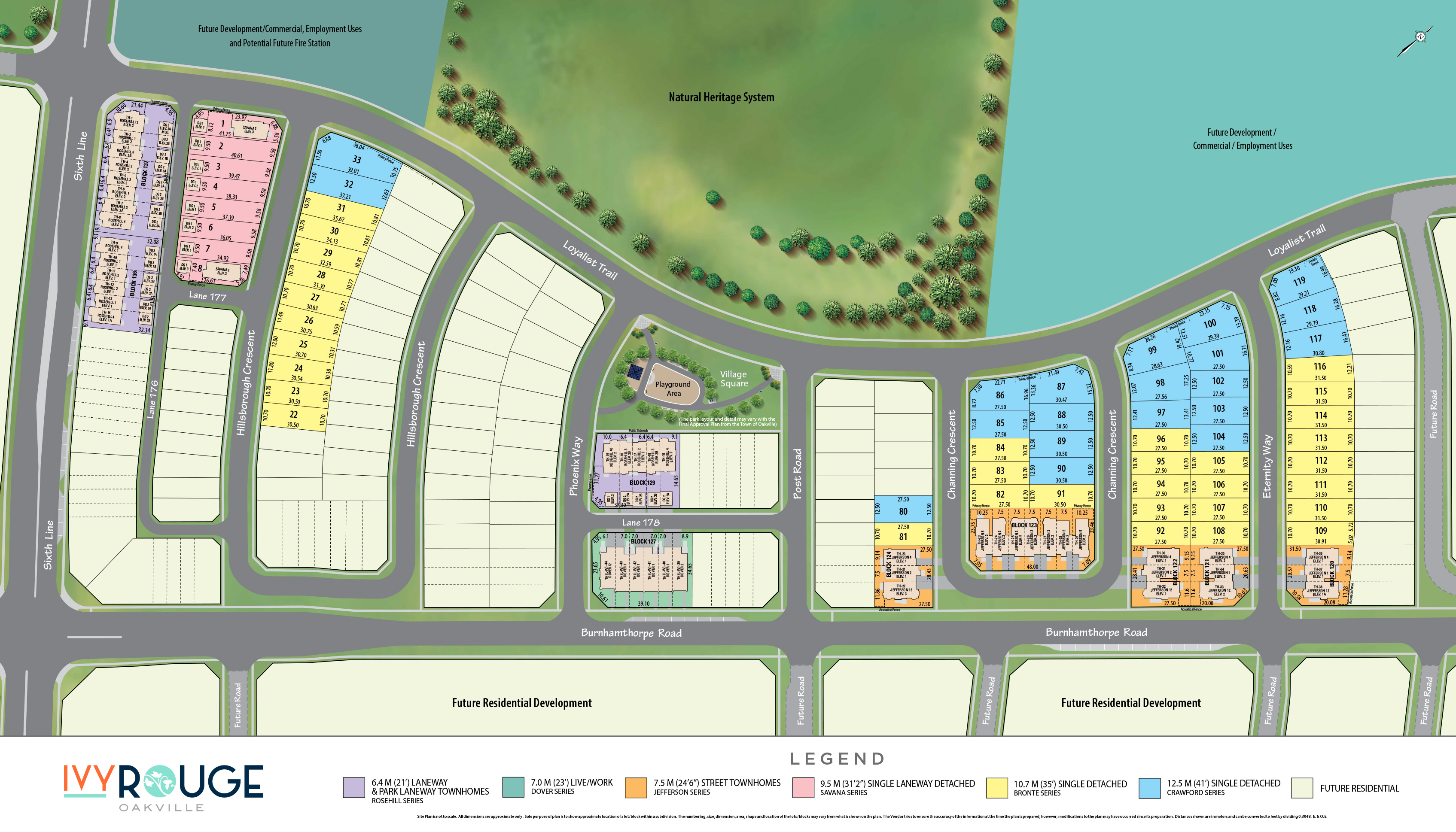 Ivy Rouge Site Plan